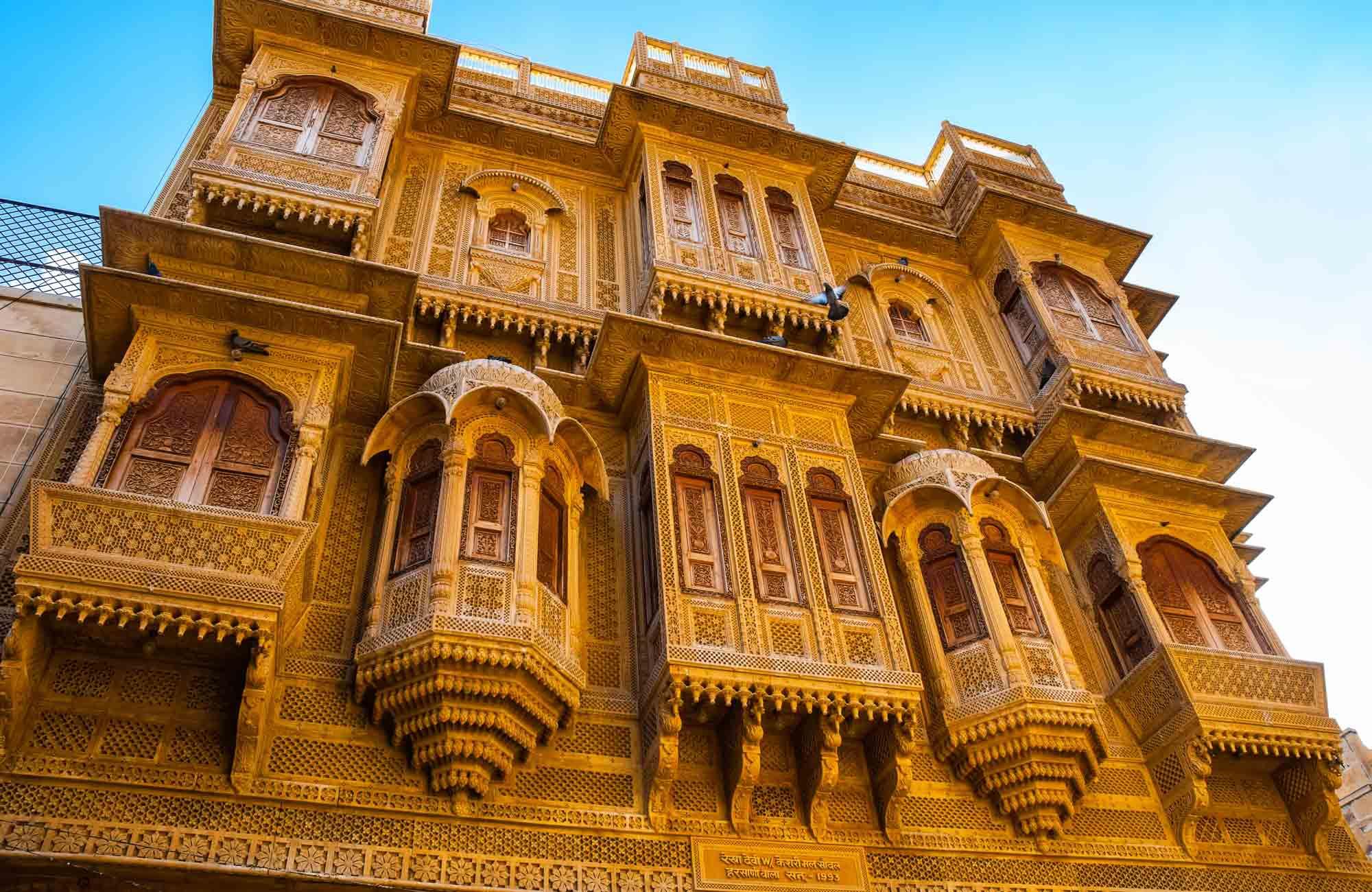 Voyage Inde - Jaisalmer Patwon ki Haveli palace - Amplitudes