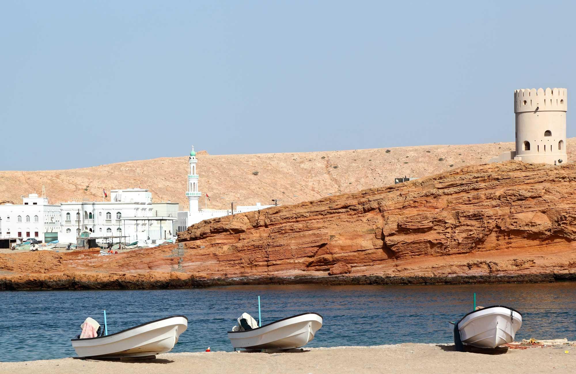 Voyage Oman - Sour port - Amplitudes
