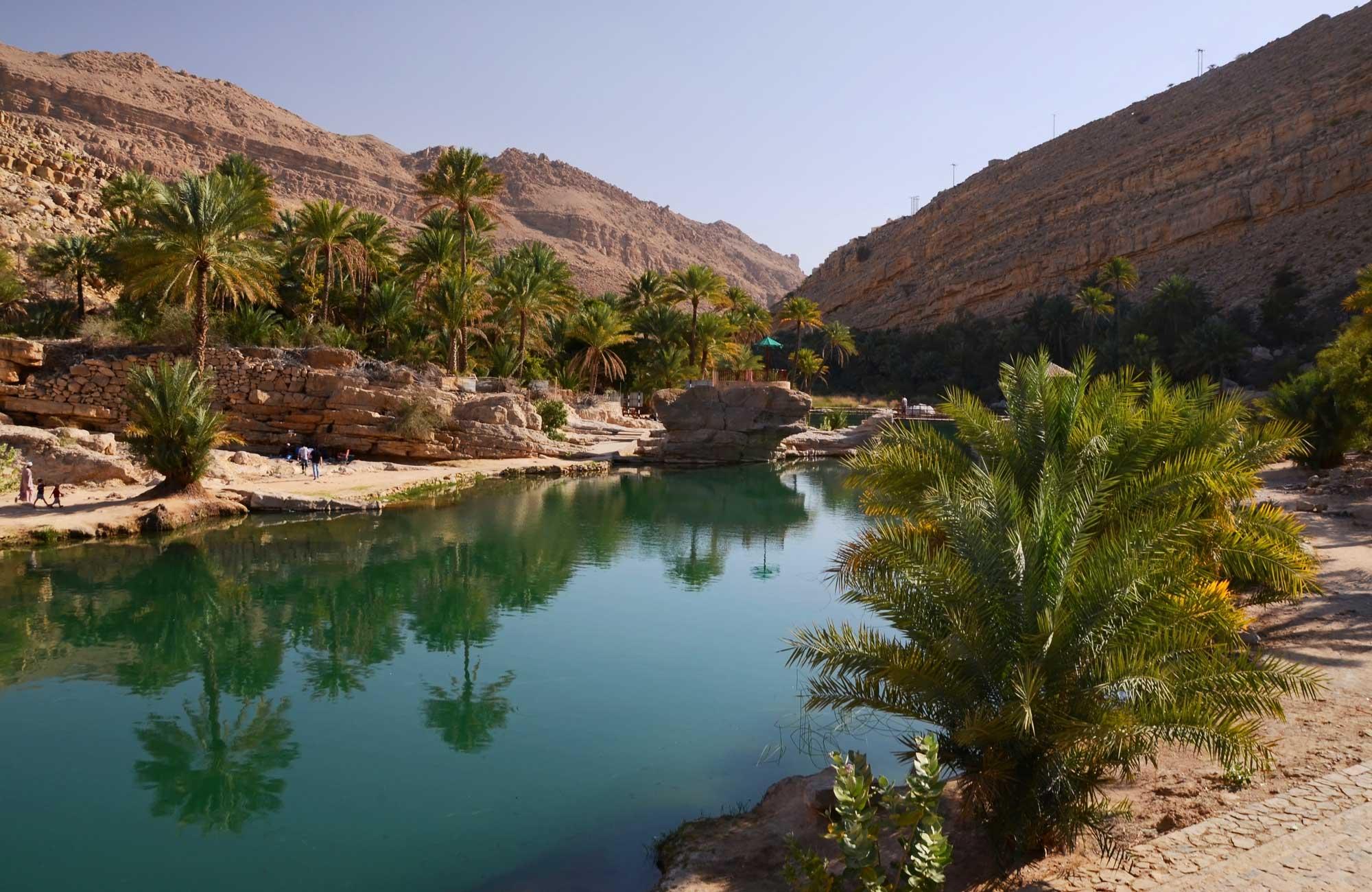 Voyage Oman - Wadi Bani Khalid - Amplitudes