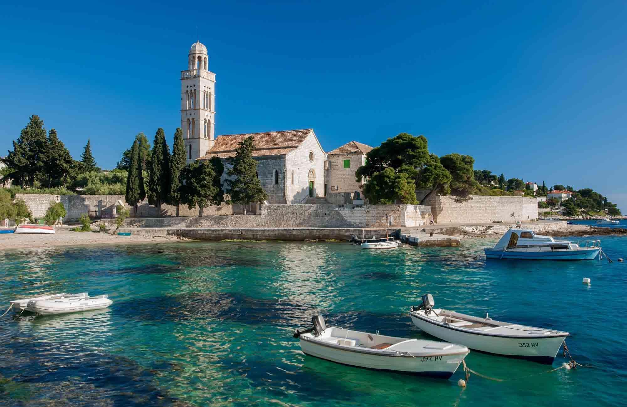 Voyage Croatie - Baie de Hvar - Amplitudes