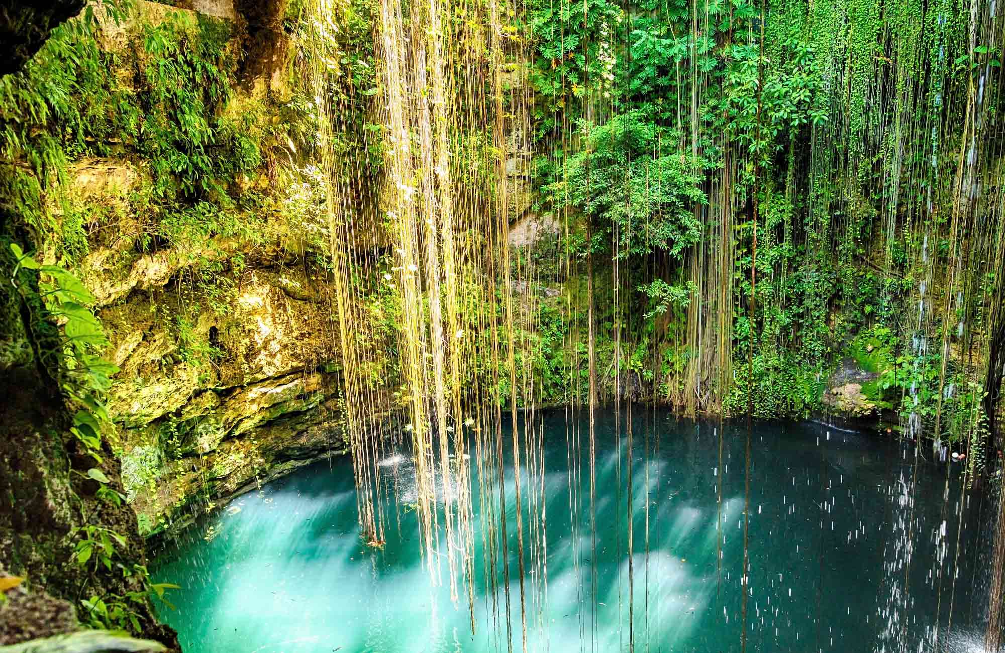 Voyage Mexique - Cenote Ik Kil - Amplitudes