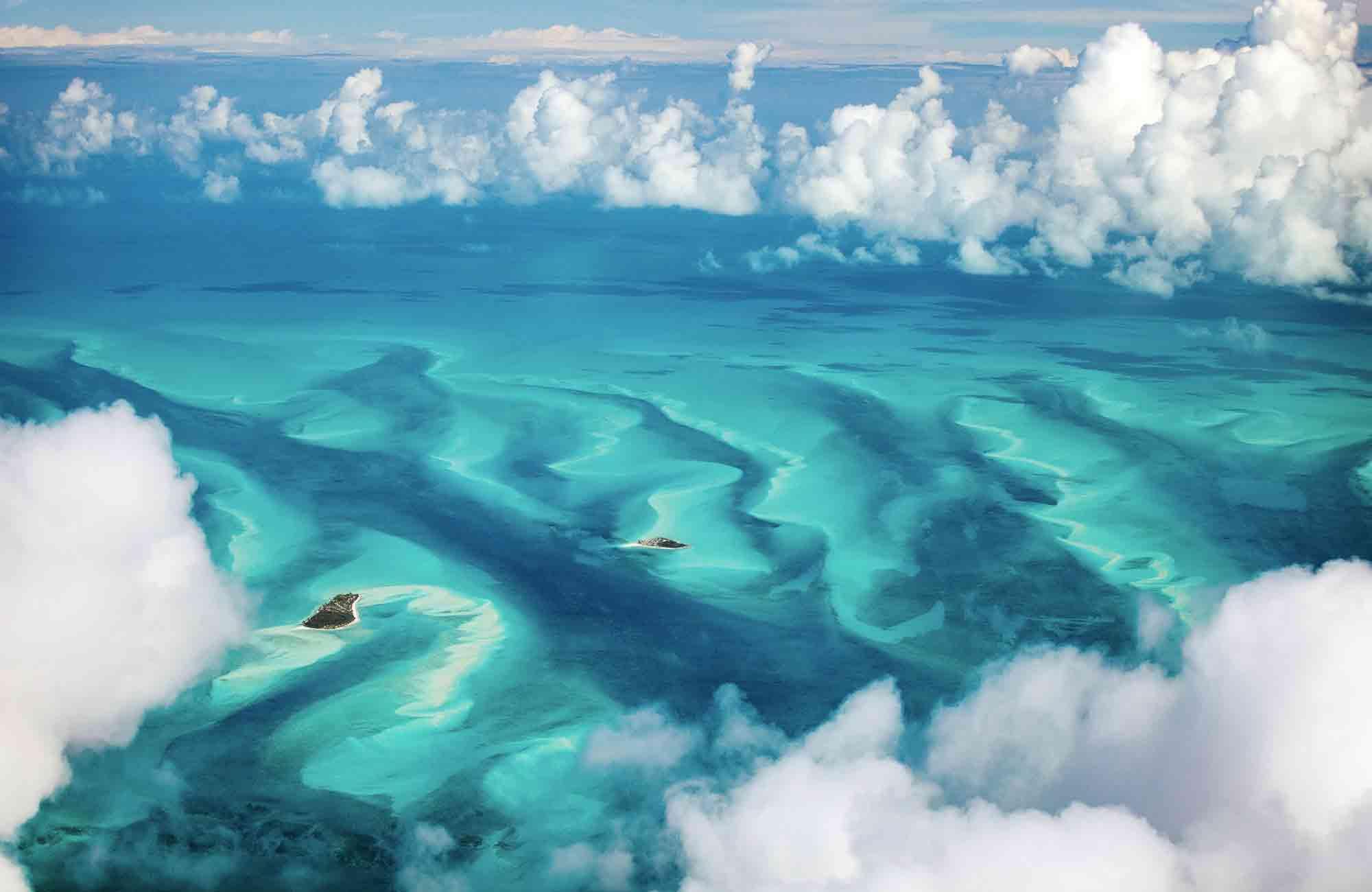 Voyage Bahamas - Vue de haut - Amplitudes
