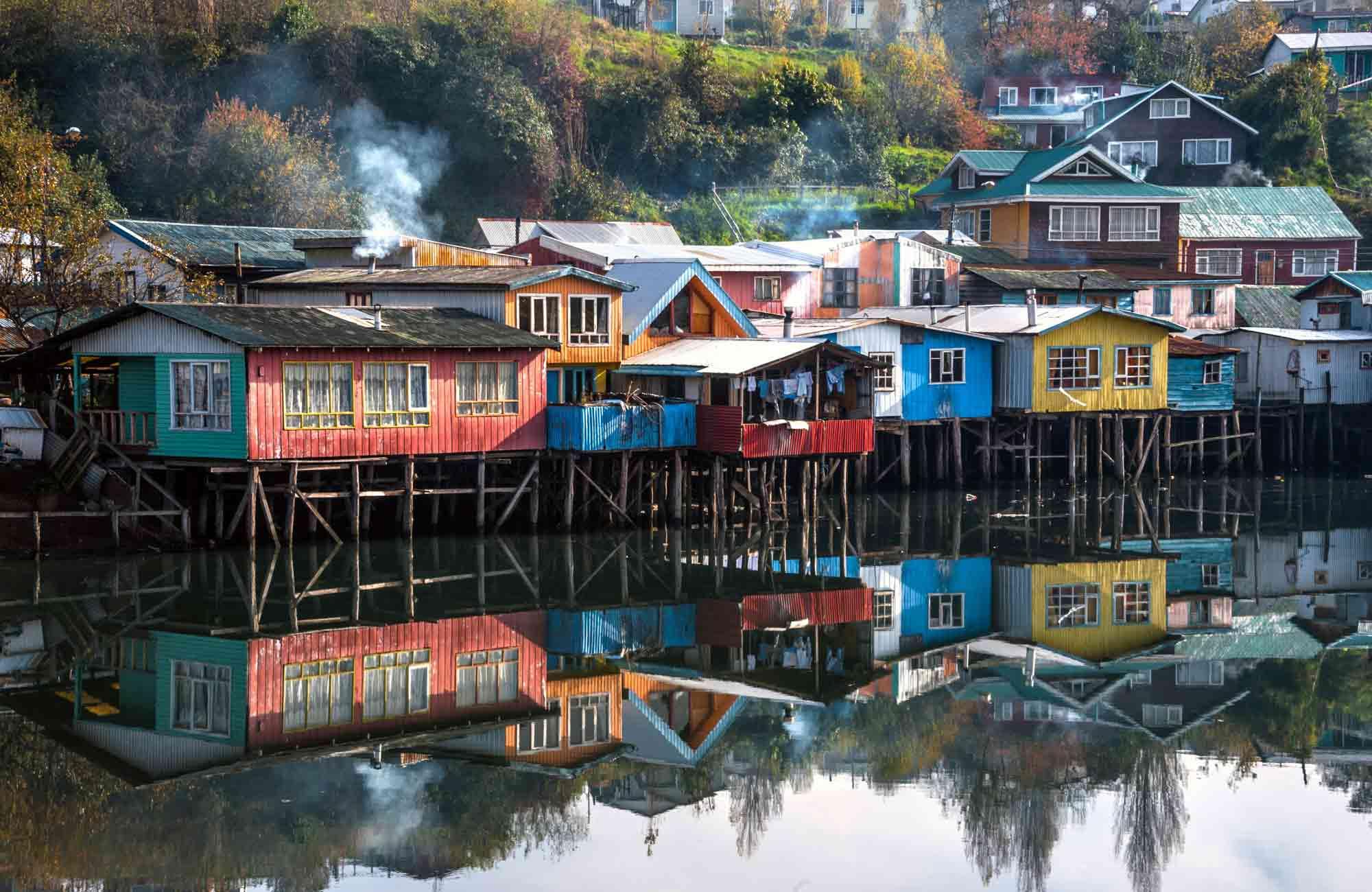 Voyage Chili - Castro Ile de Chiloe Maisons sur Pilotis - Amplitudes