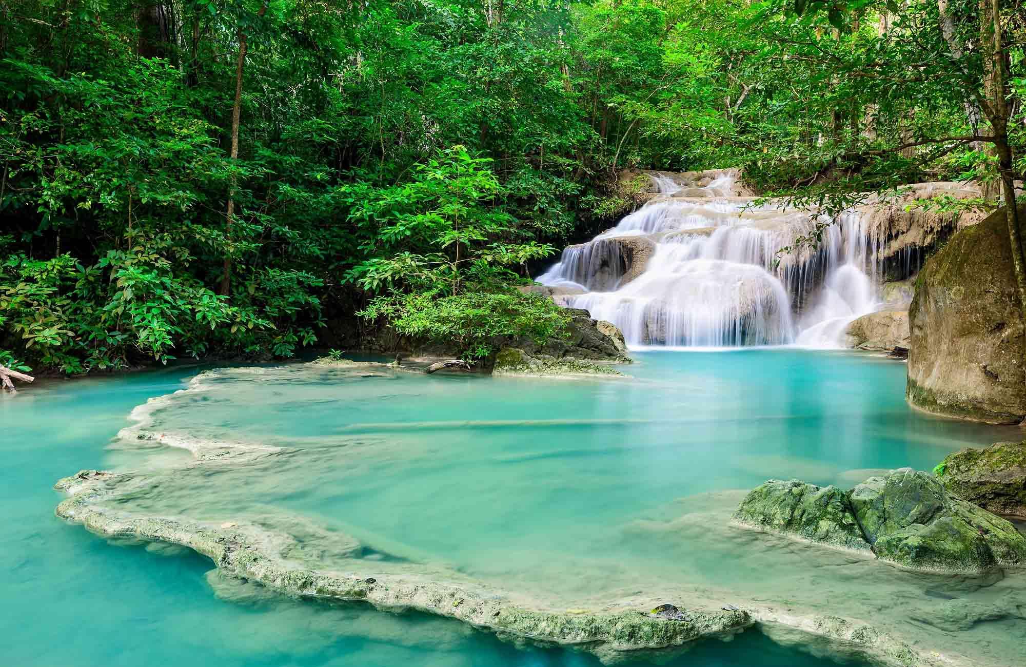 Voyage Thaïlande - Parc Erawan Cascades - Amplitudes