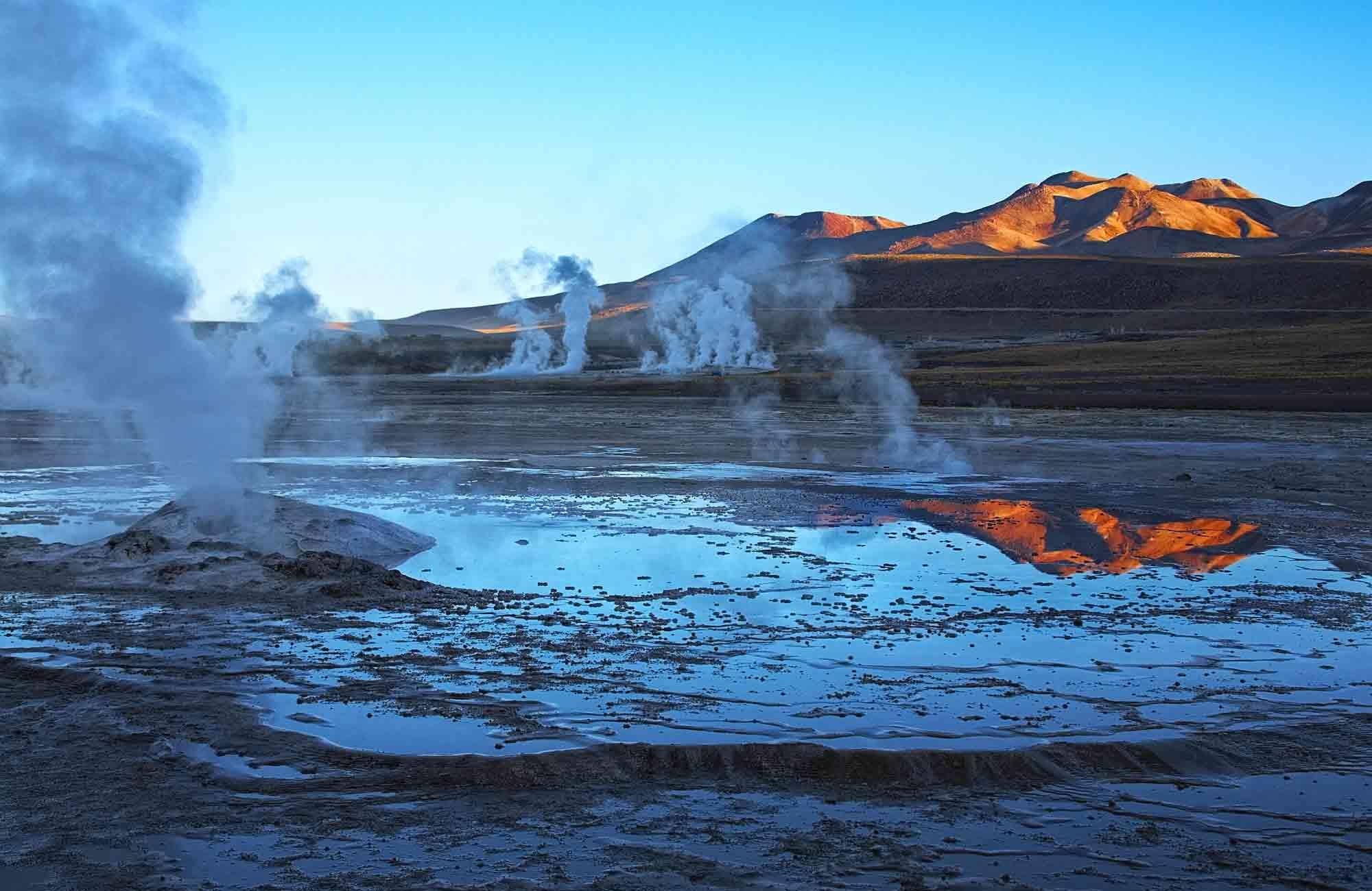 Voyage Chili - Geysers du Tatio Atacama - Amplitudes