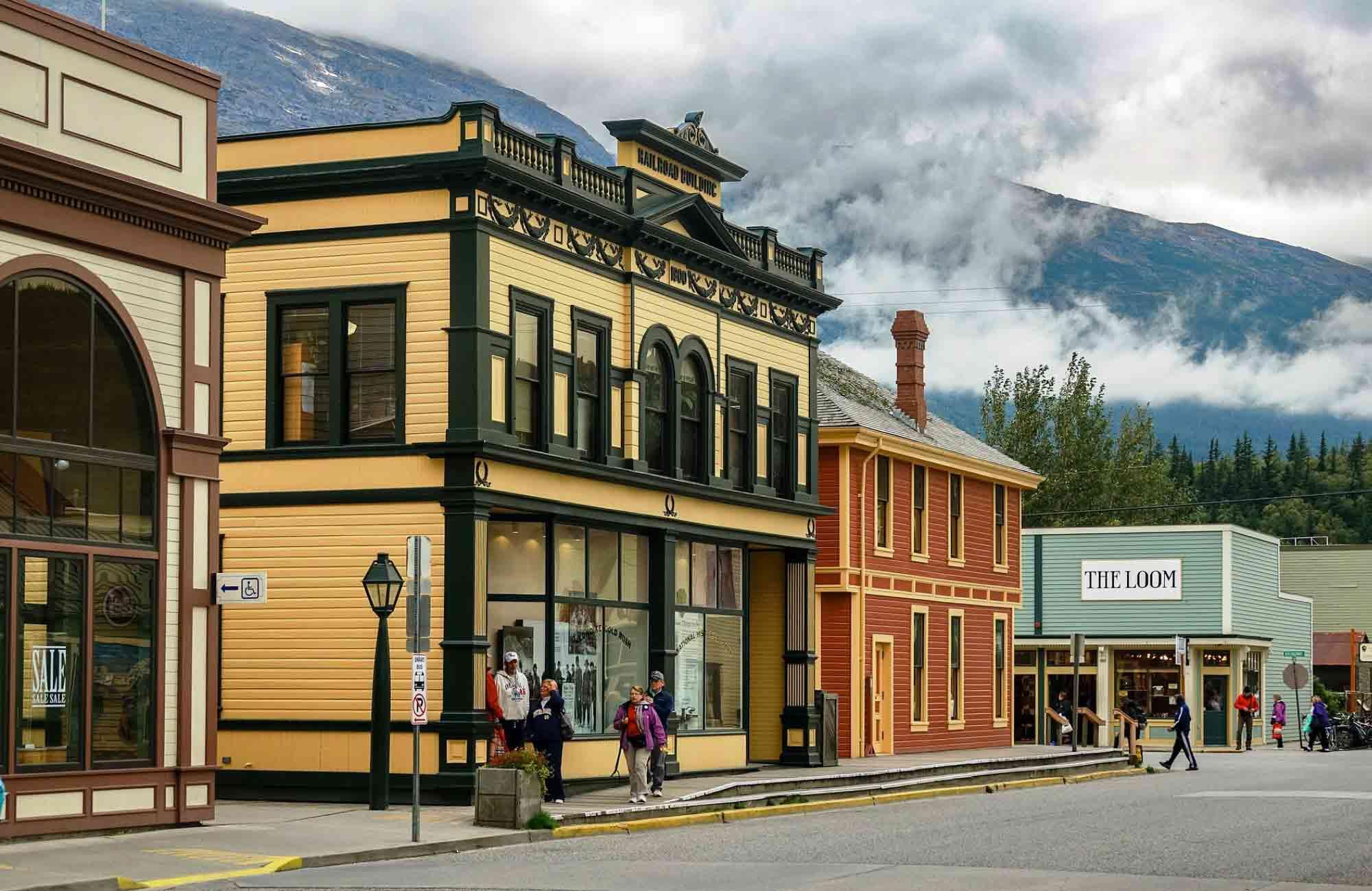 Voyage Alaska - Skagway - Amplitudes