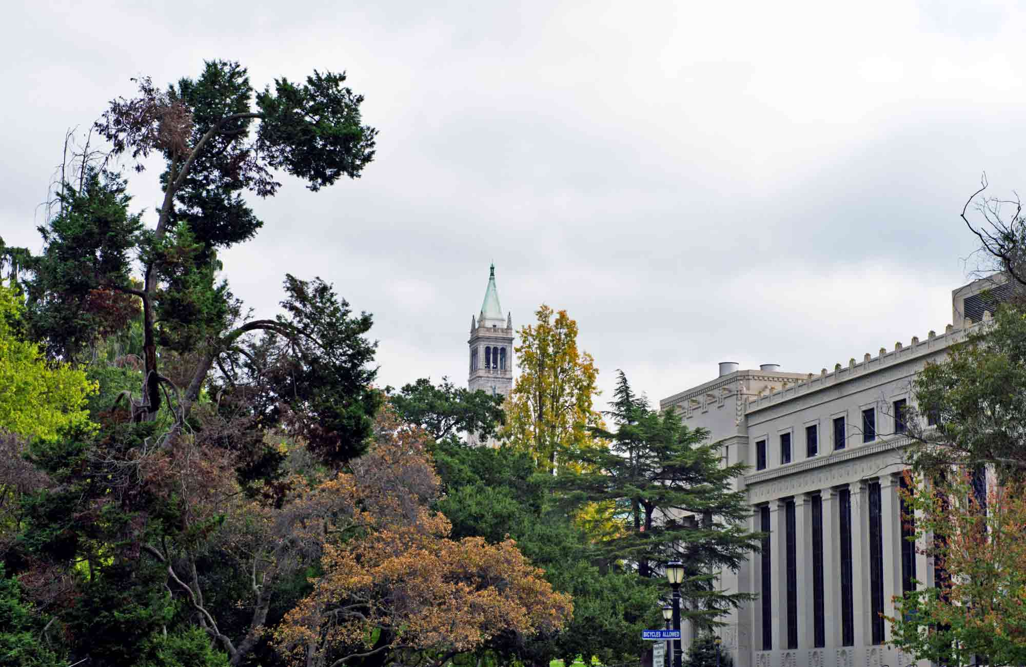 Voyage San Francisco - Sather-Tower-berkeley - Amplitudes