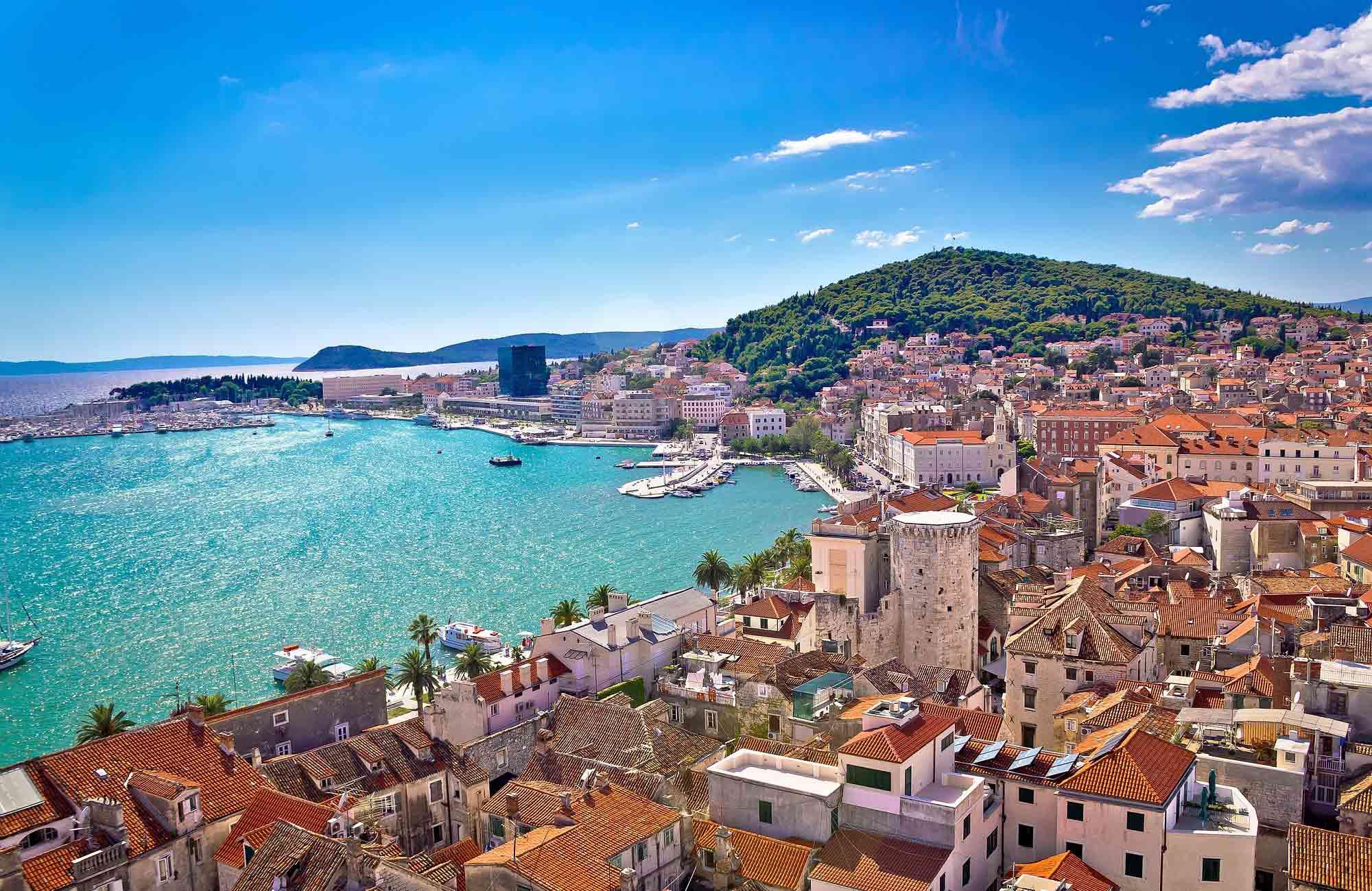 Voyage Croatie - Split - Amplitudes