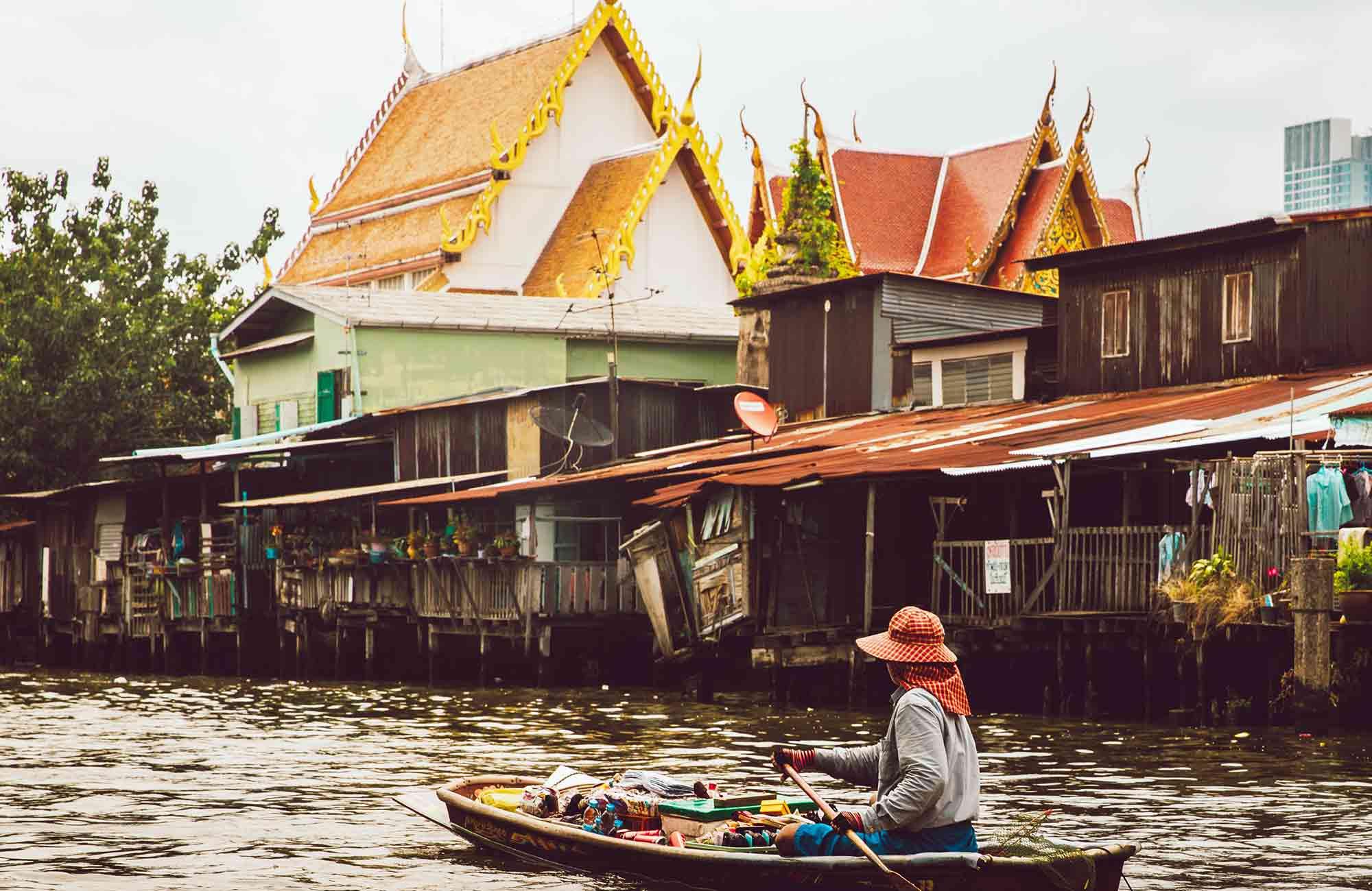 Voyage Thaïlande - Klongs Bangkok - Amplitudes