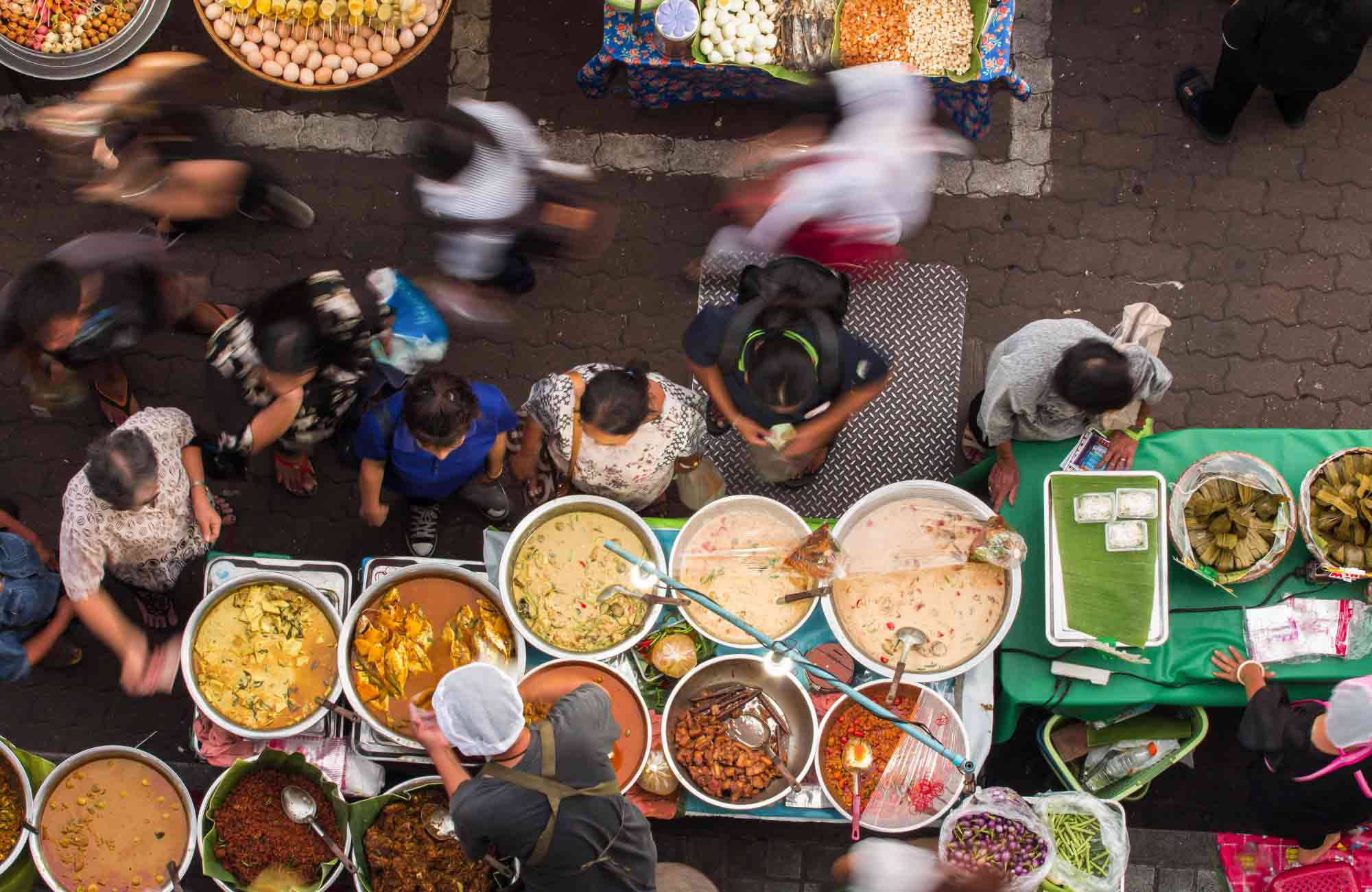 Voyage Thaïlande - Bangkok cuisine de rue - Amplitudes