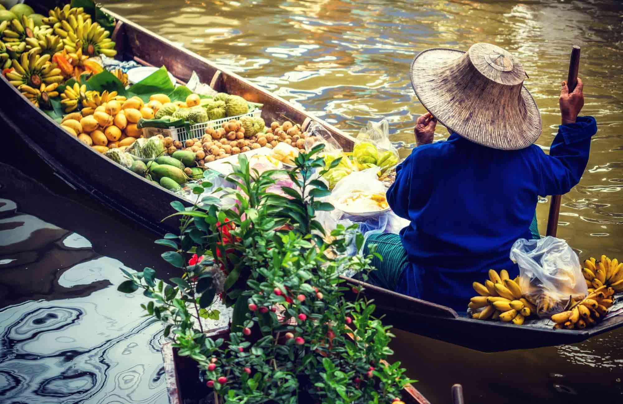 Voyage Thaïlande - Damnoen Saduak - Amplitudes