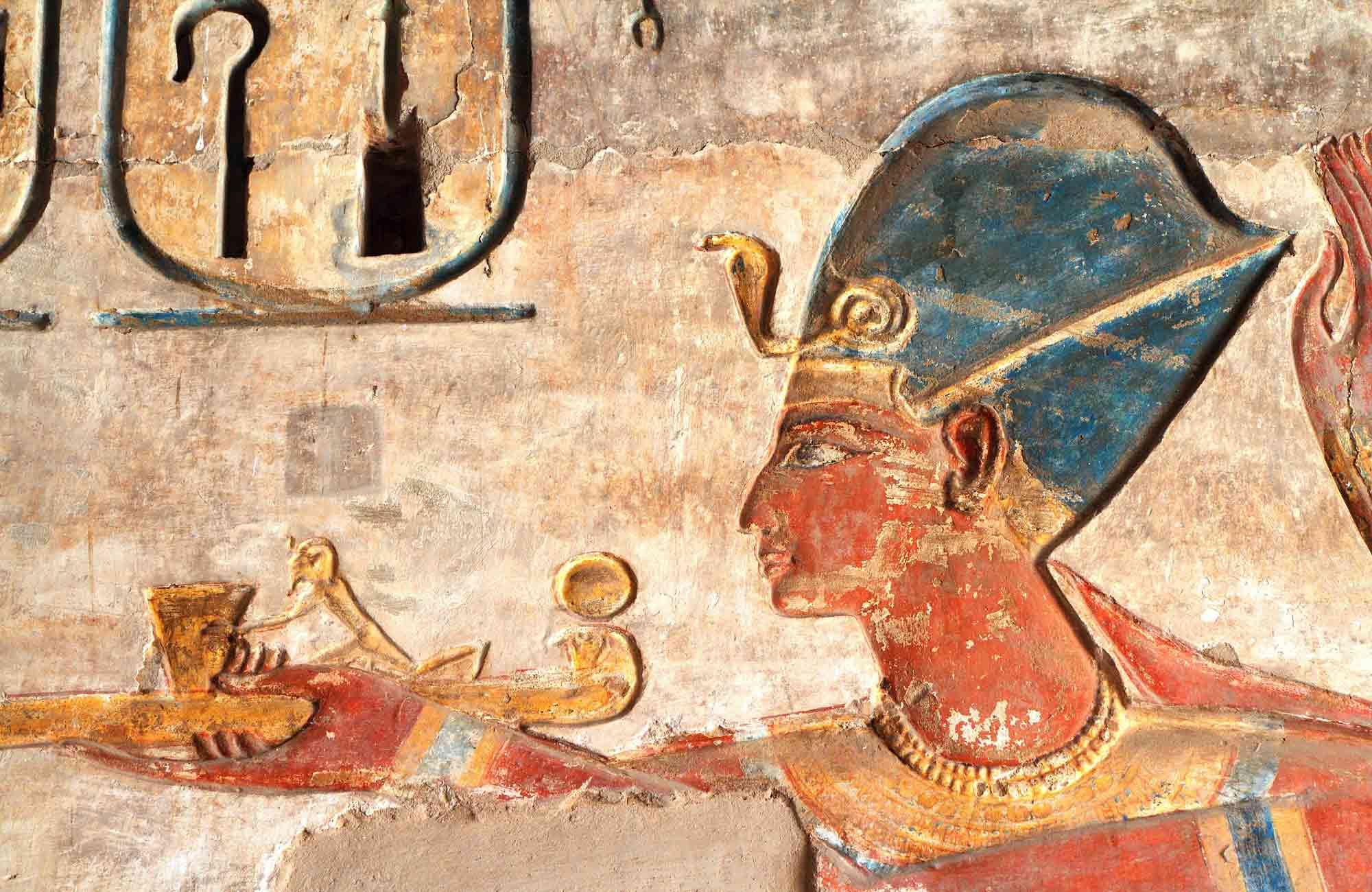 Voyage Egypte - Hiéroglyphes - Amplitudes