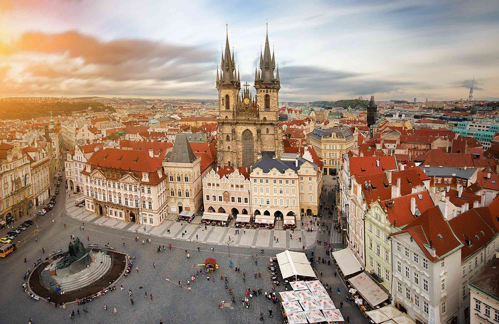 Voyages - Europe de l'Est -Prague-Amplitudes