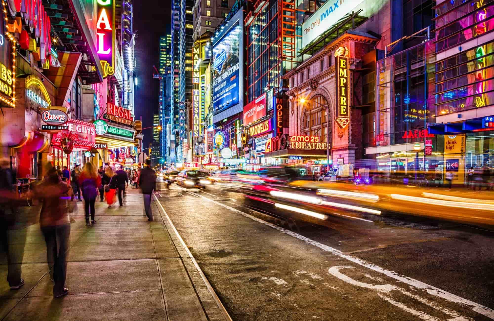 Voyage New York - 42ème rue - Amplitudes