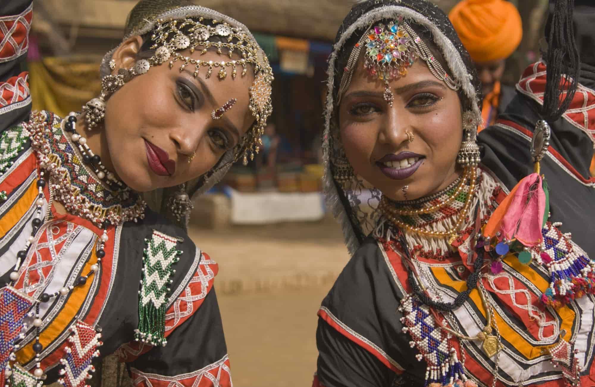 Danseuses de kalbelia à Jaipur - Recoup