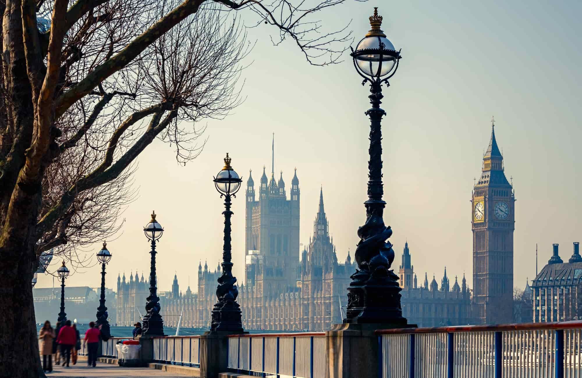 Le palais de Westminster et Big Ben Londres - Recoup