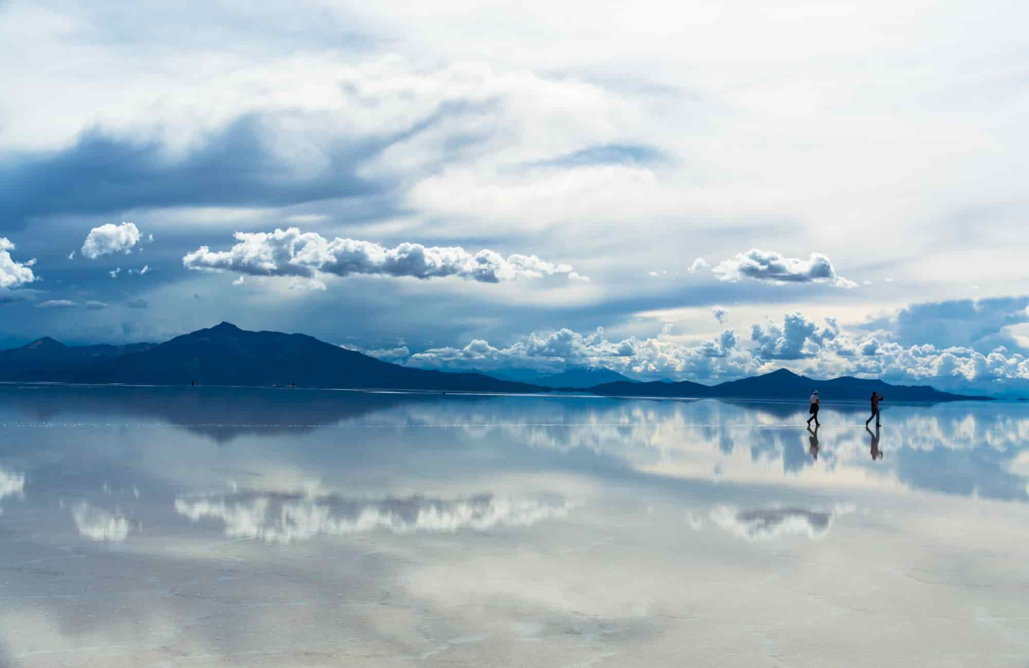 Salar de Uyuni Bolivie - Recoup