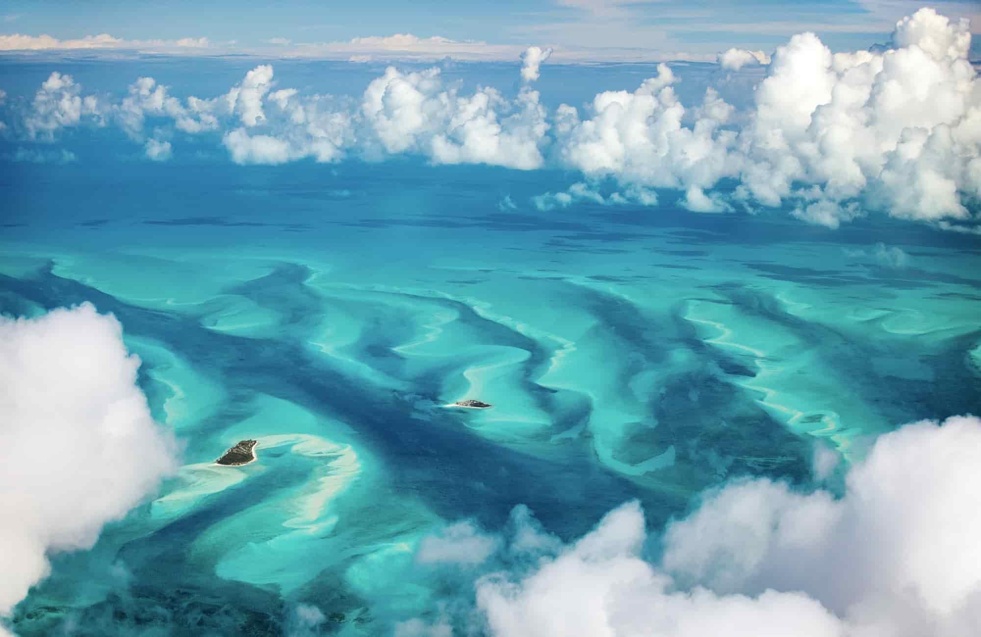 Voyage Bahamas - Vue aérienne - Amplitudes