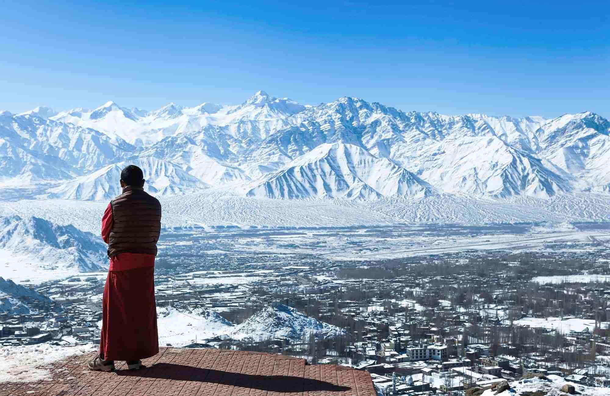 Voyage Inde - Ladakh - Vallée de Leh dans l'Himalaya - Amplitudes