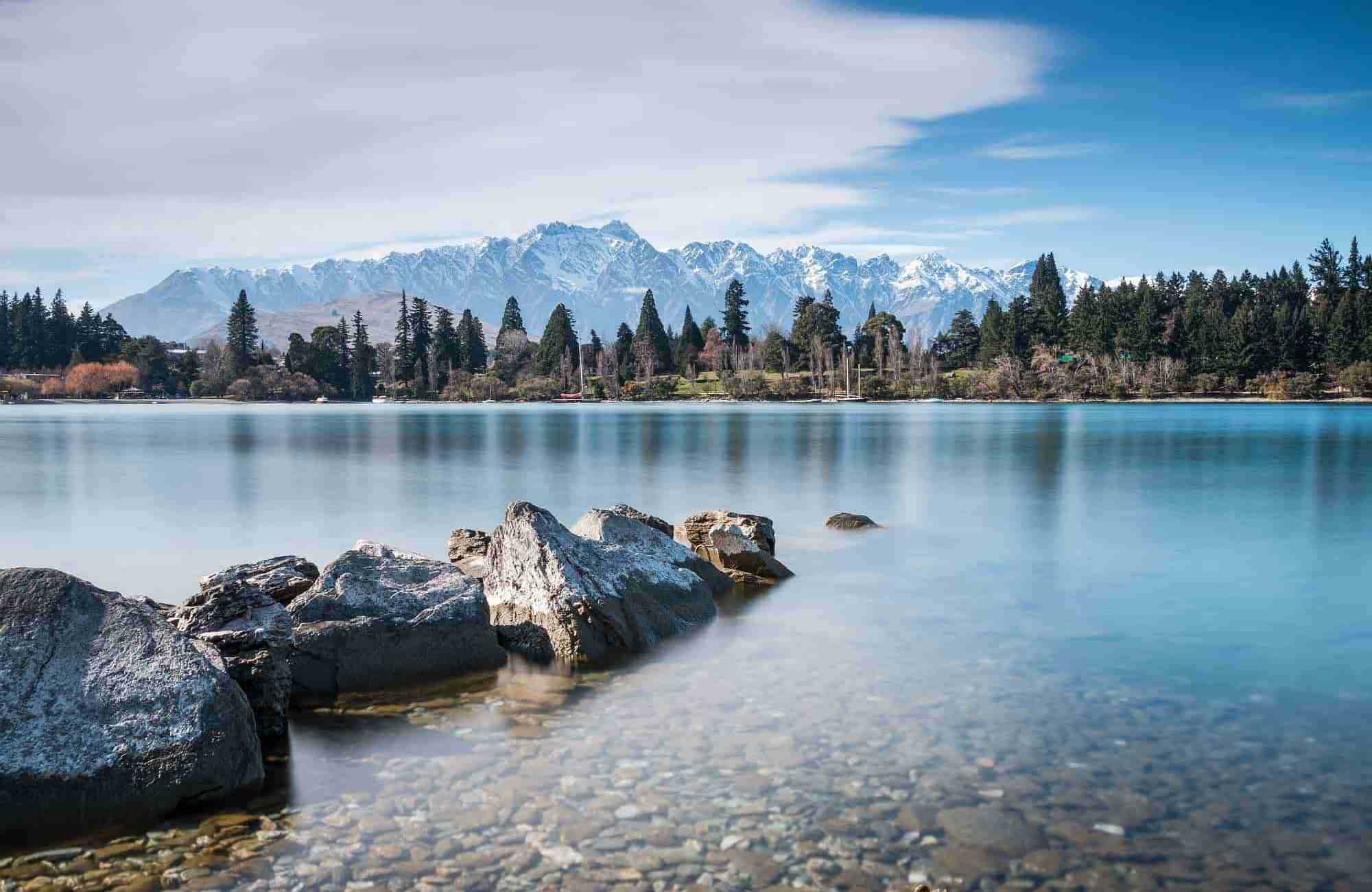 Voyage Nouvelle-Zélande - Lac Wakatipu - Amplitudes
