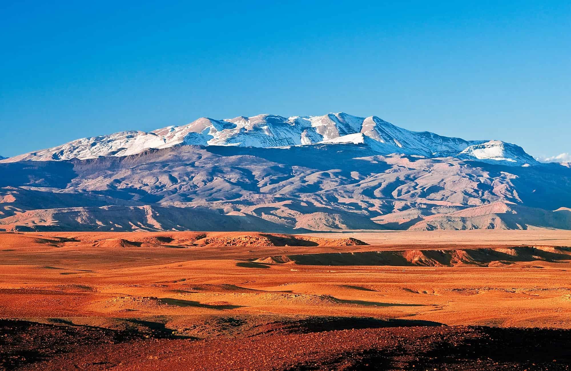 Montagne de l'Atlas