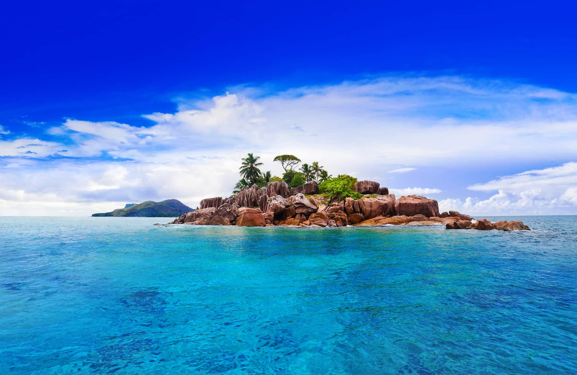Océan indien, balade aux Seychelles et vue depuis votre catamaran