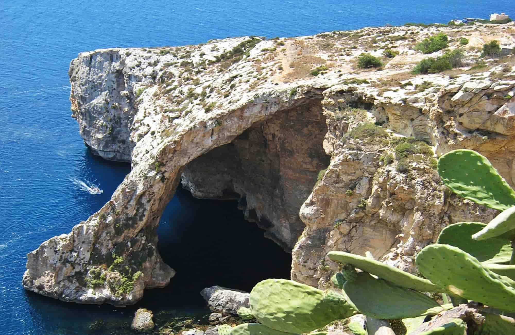 Voyage Malte - Blue grotto - Amplitudes
