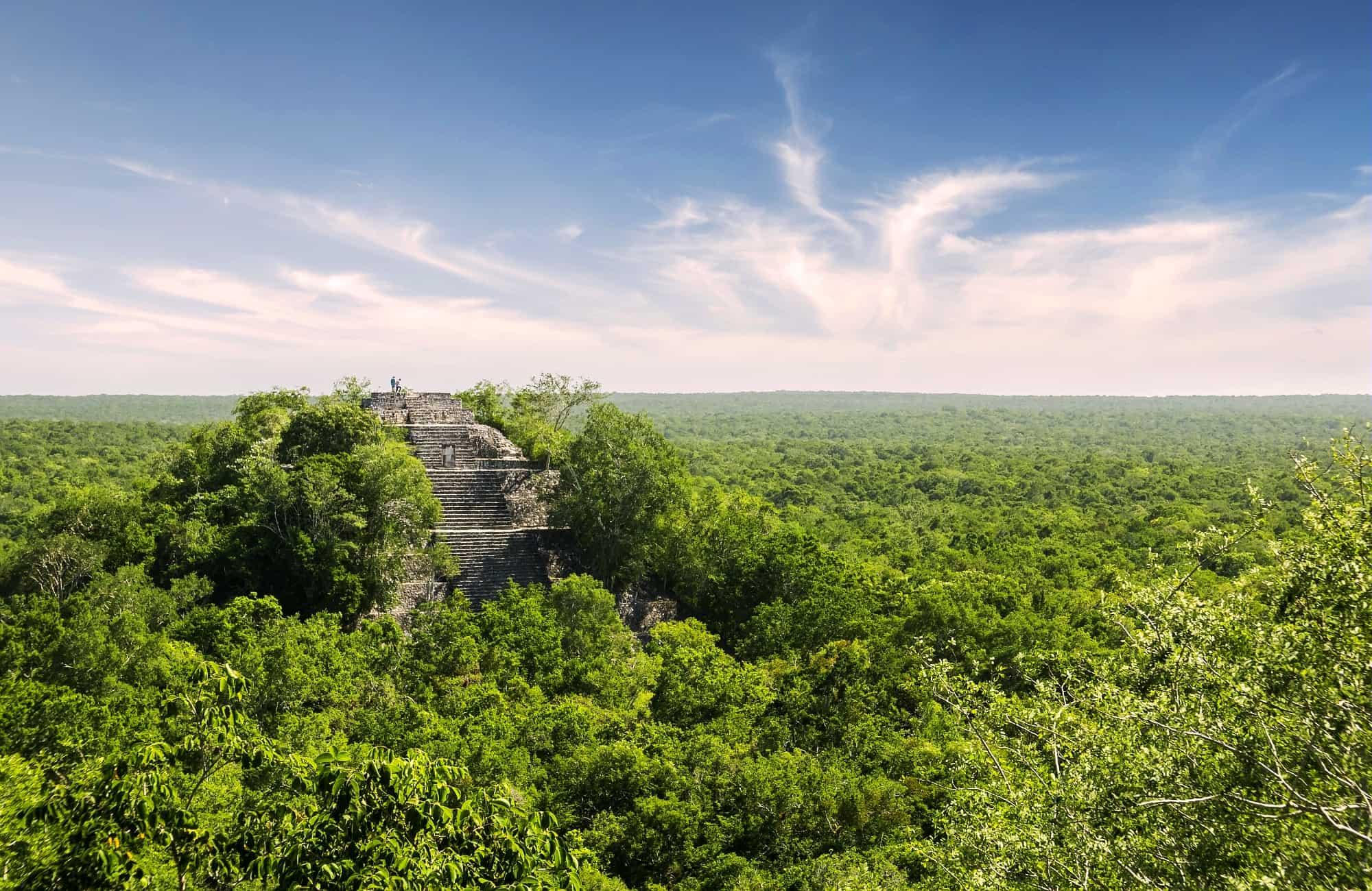 Voyage au bout de la jungle, découverte des ruines Calakmul