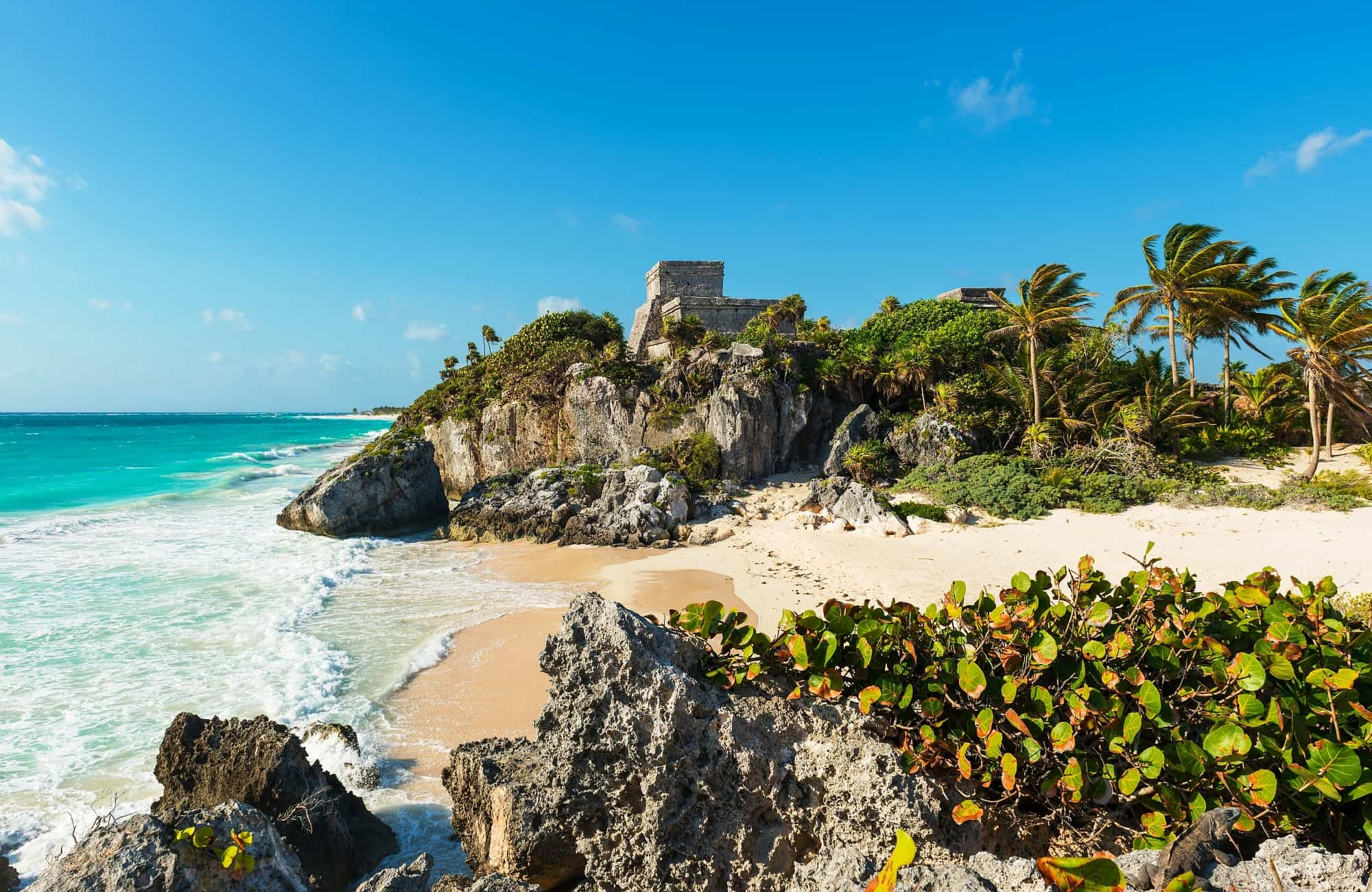 Tulum, cité Maya au bord des Caraïbes