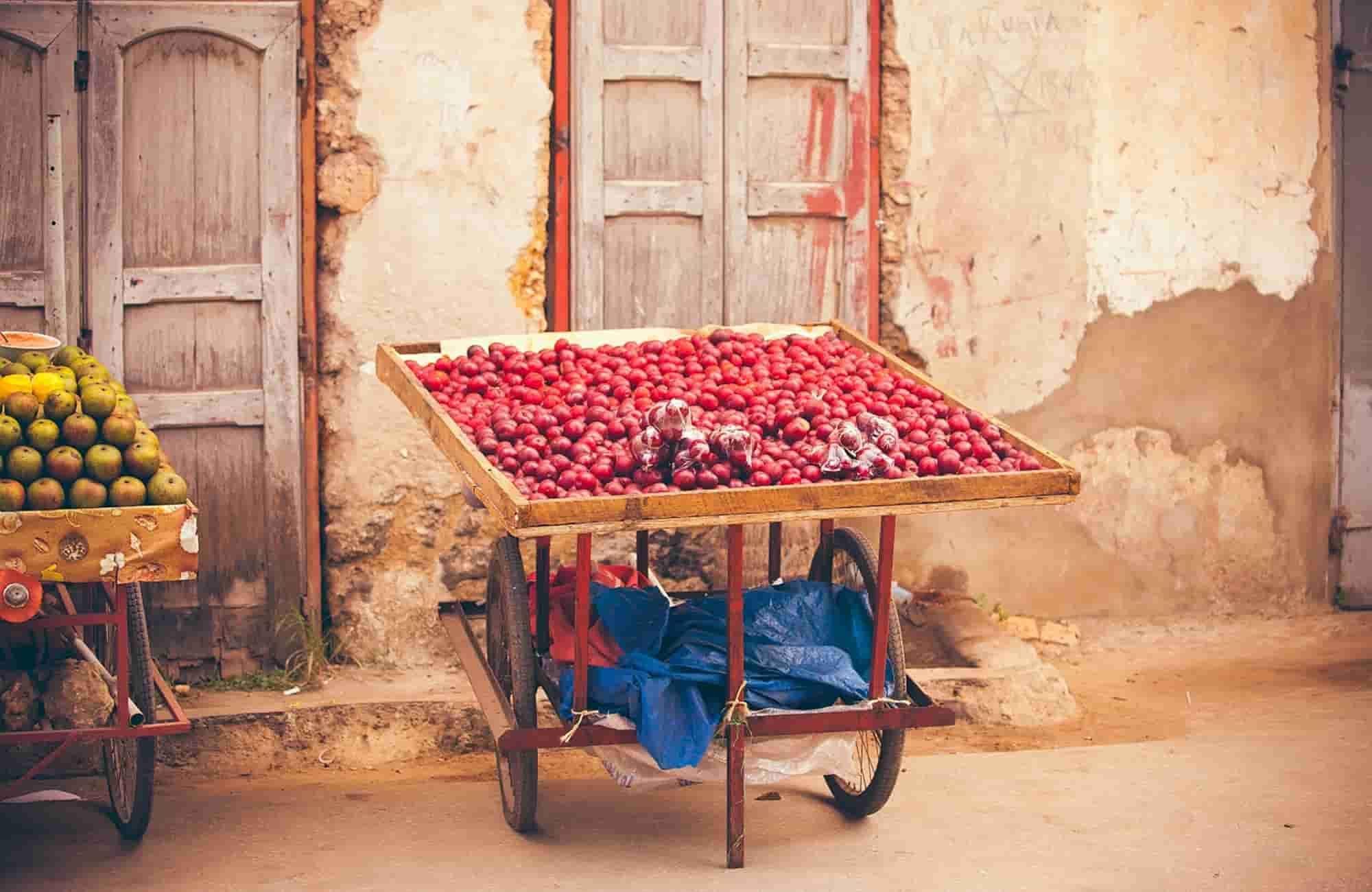 Voyage à Zanzibar - Marché local - Amplitudes