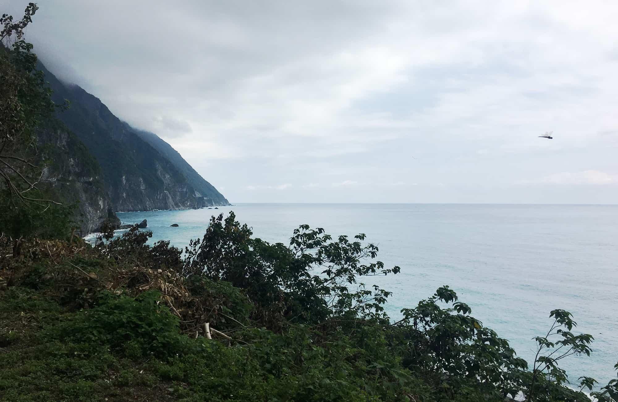Voyage à Taïwan - Falaises de Qingshui - Amplitudes