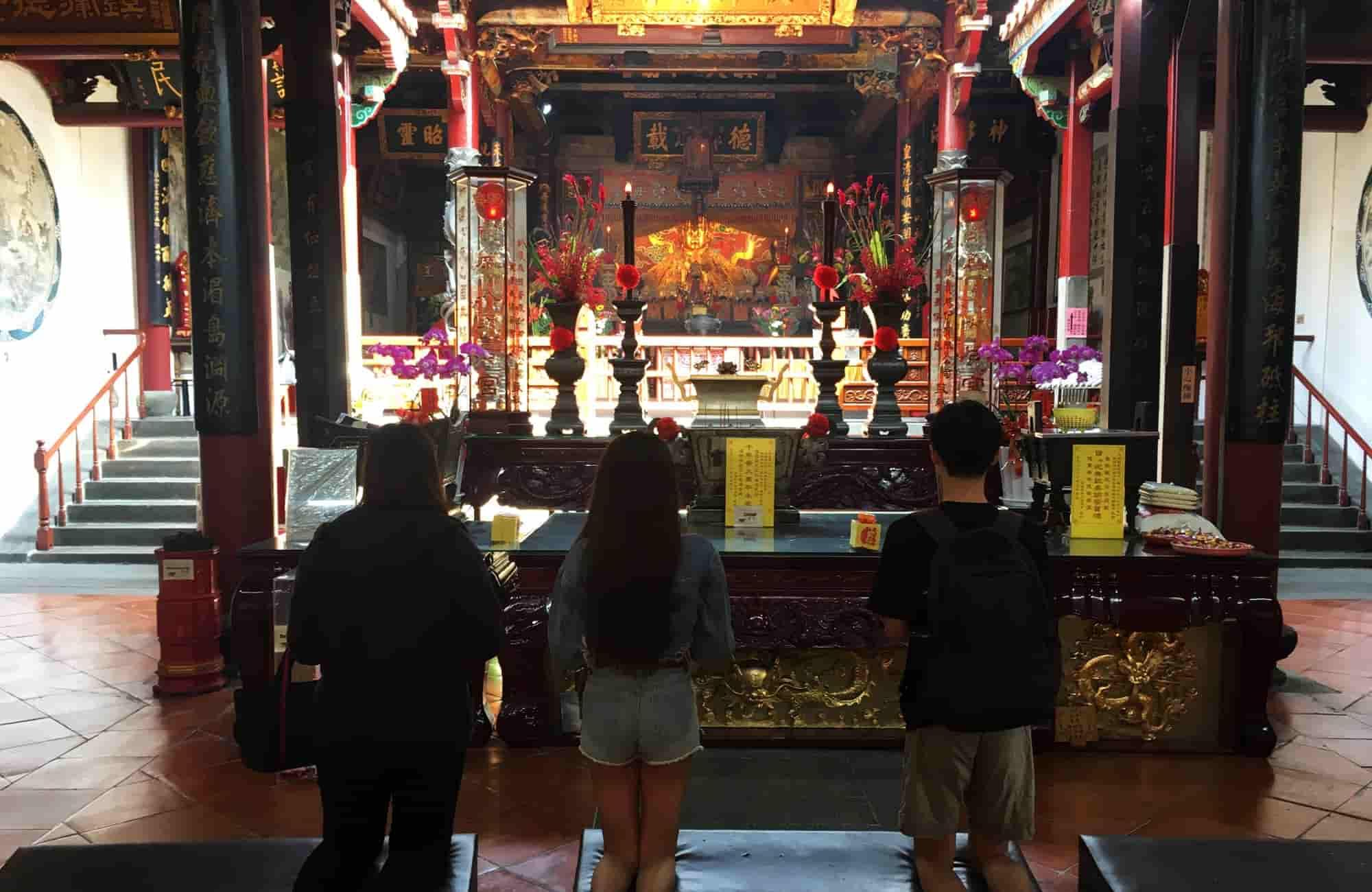 Voyage à Taïwan - Grand Mazu Temple - Amplitudes