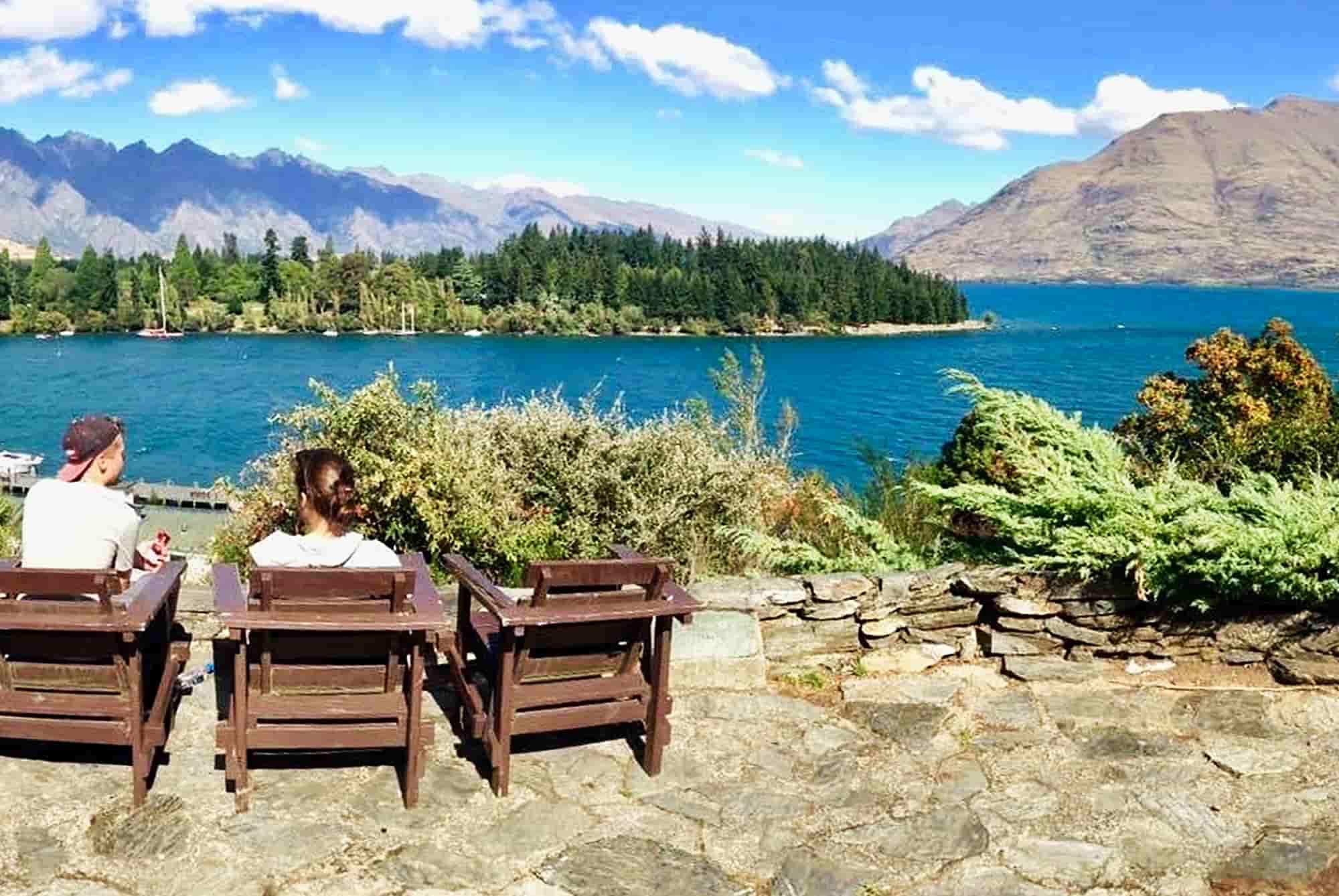 Voyage en Nouvelle-Zélande - Lac Wakatipu - Amplitudes