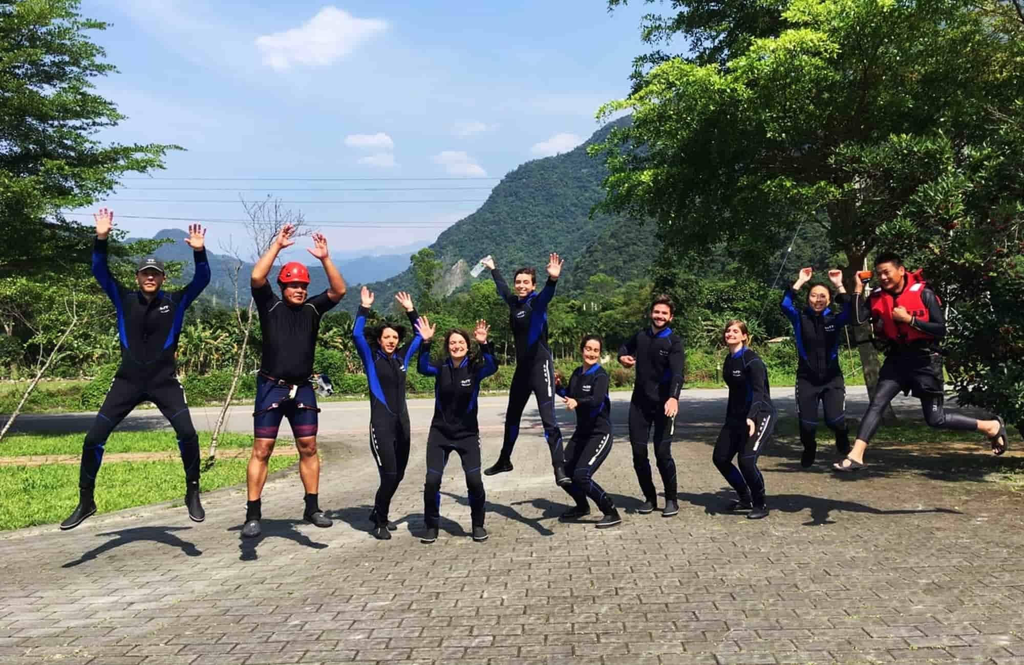 Voyage à Taïwan - Canyoning - Amplitudes