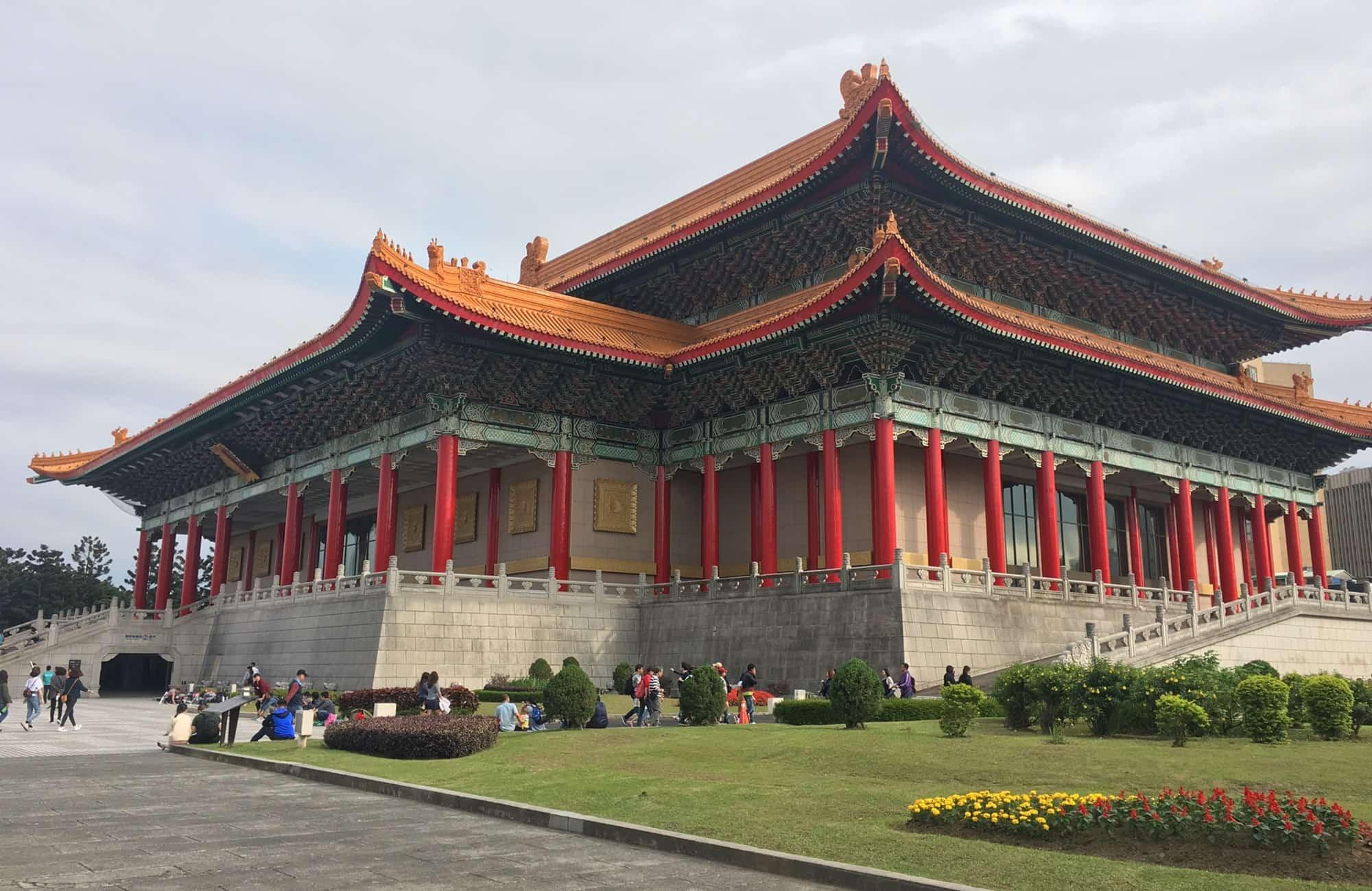 Voyage à Taïwan - Chiang Kai-Shek Memorial - Amplitudes