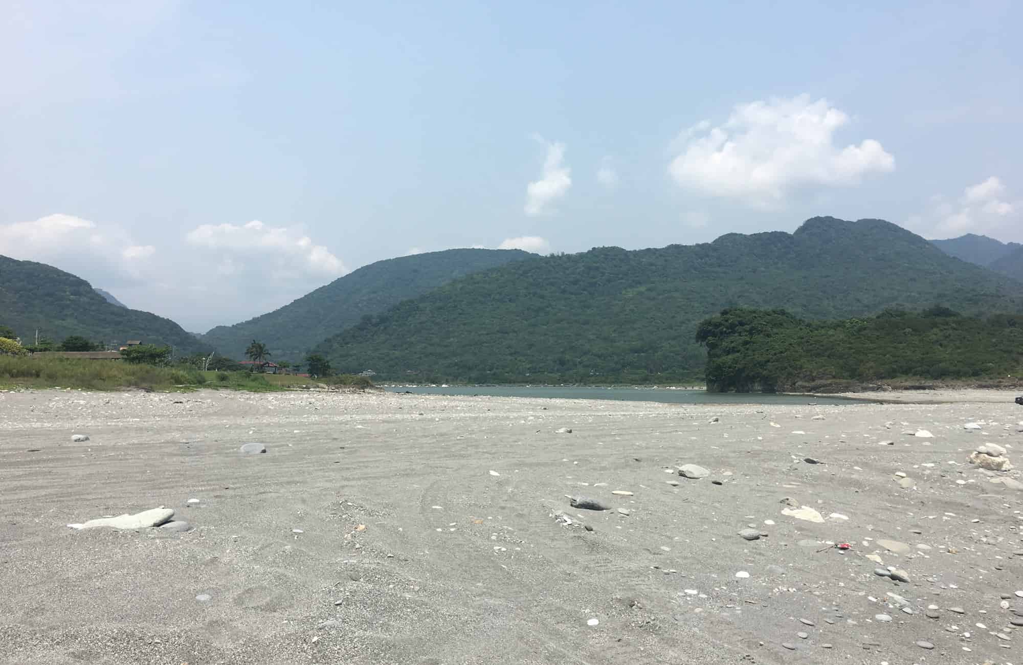 Voyage à Taïwan - Rivère Xiugulan - Amplitudes