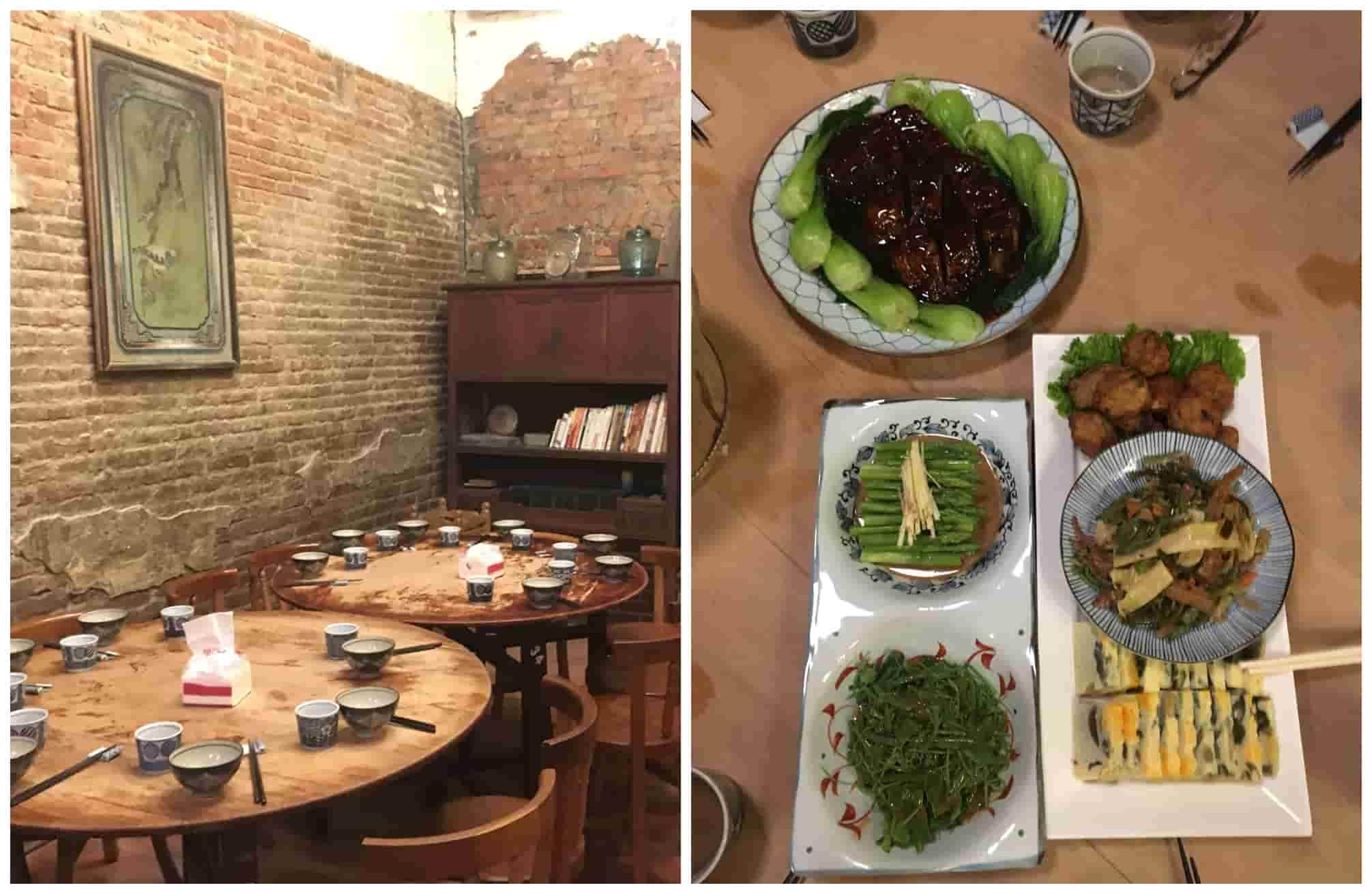Voyage à Taïwan - Zhu Xin Ju Restaurant - Amplitudes