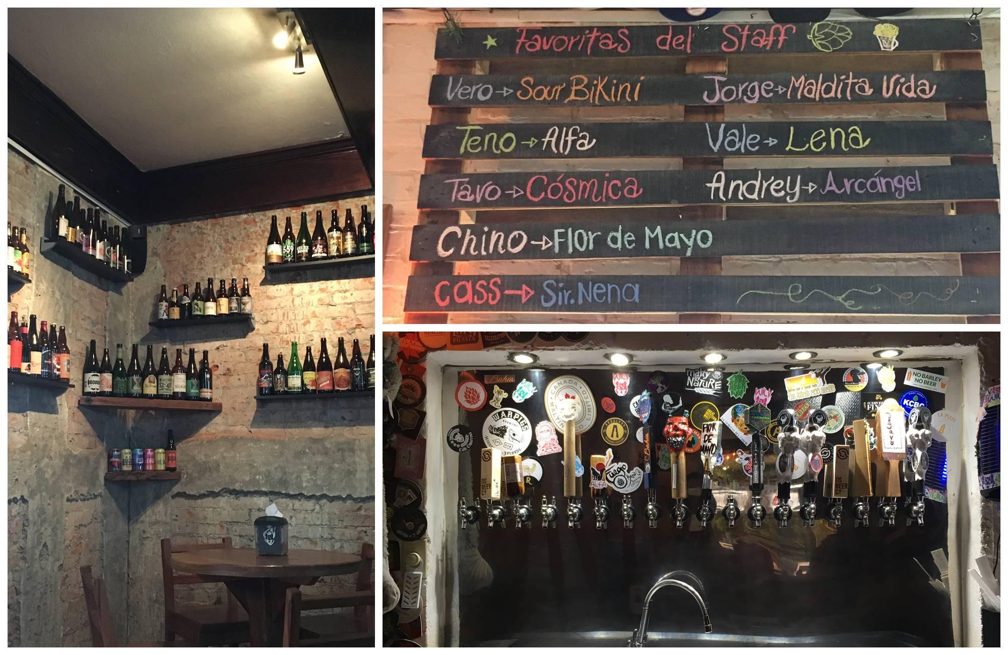 Dégustation de bieres dans San José