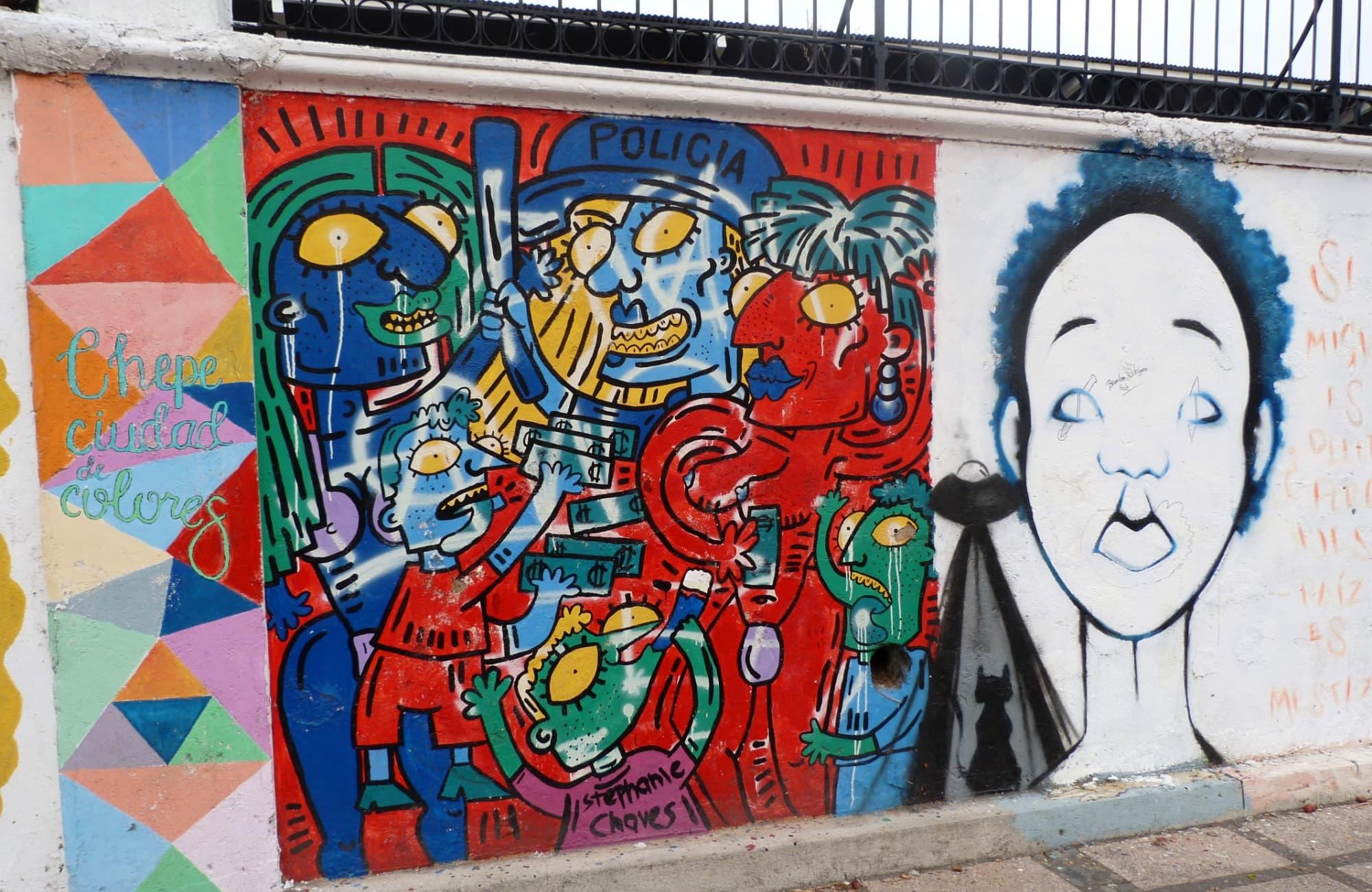 Street Art à Saint José