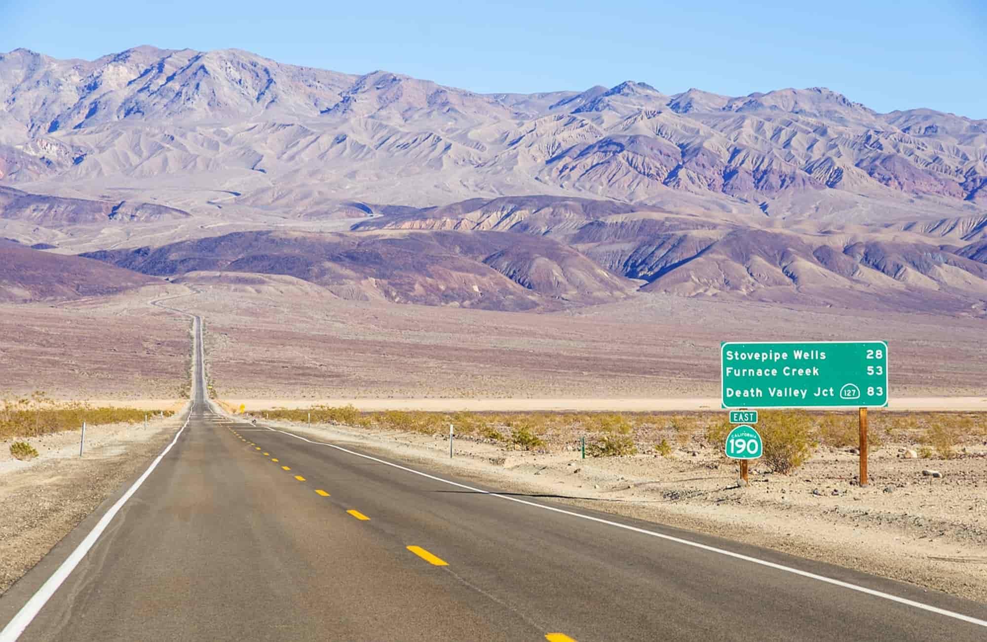 Voyage au États-Unis - Désert des Mojaves - Amplitudes