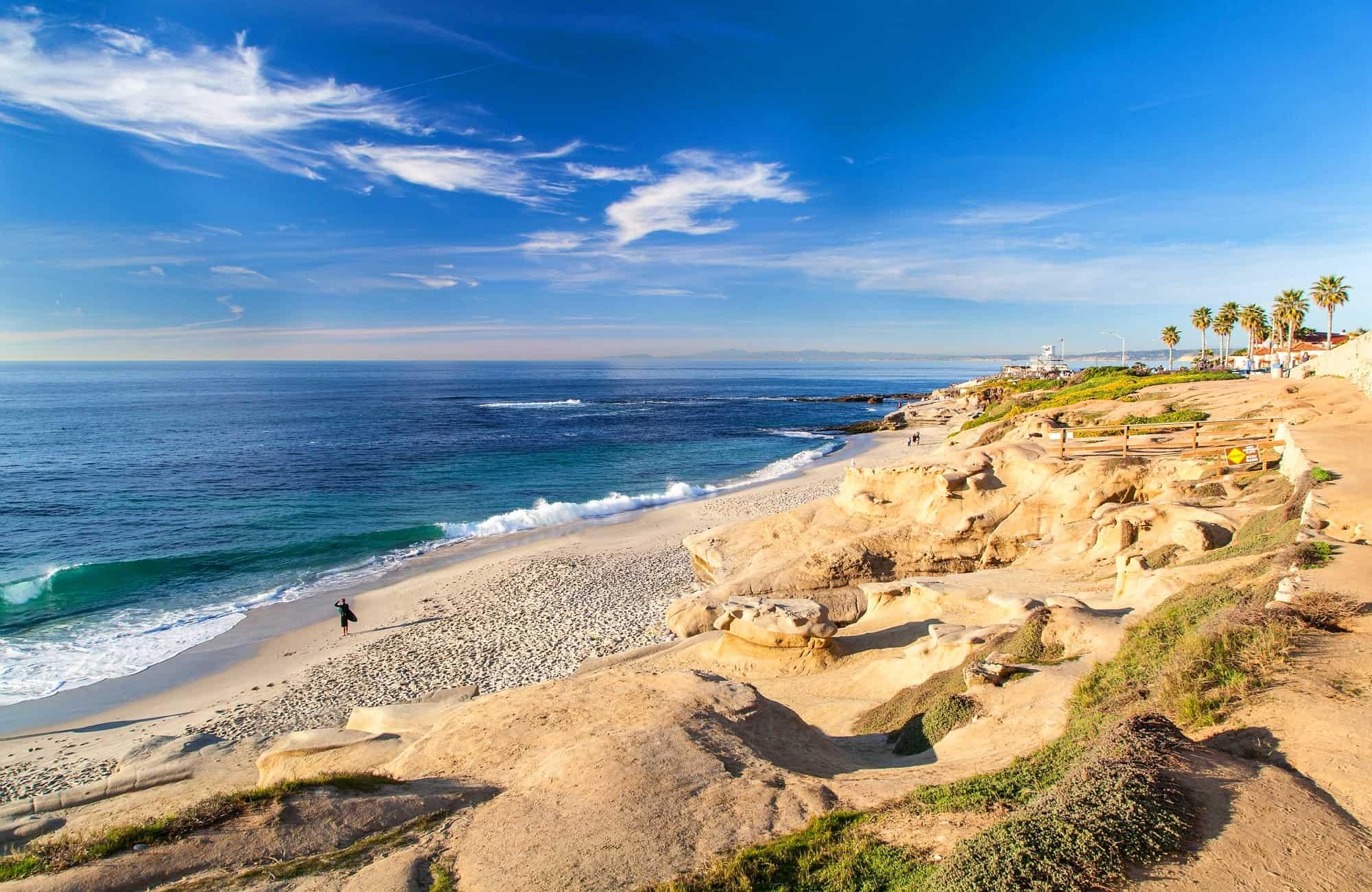 Partez-vous amuser dans les vagues des plages de la Jolla