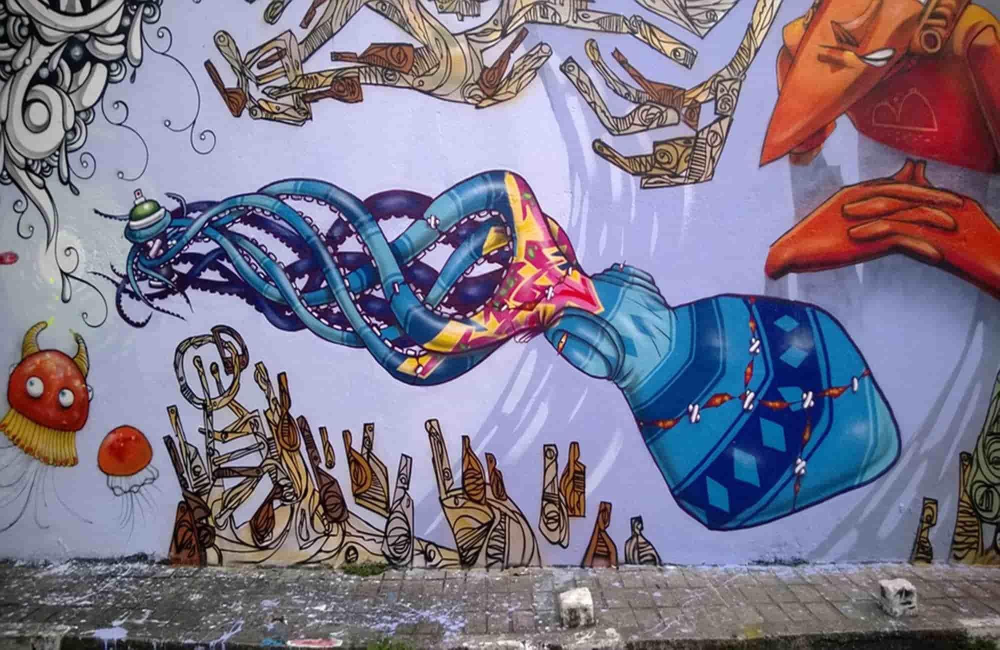 Voyage au Brésil - Street-art à Sao Paulo - Amplitudes