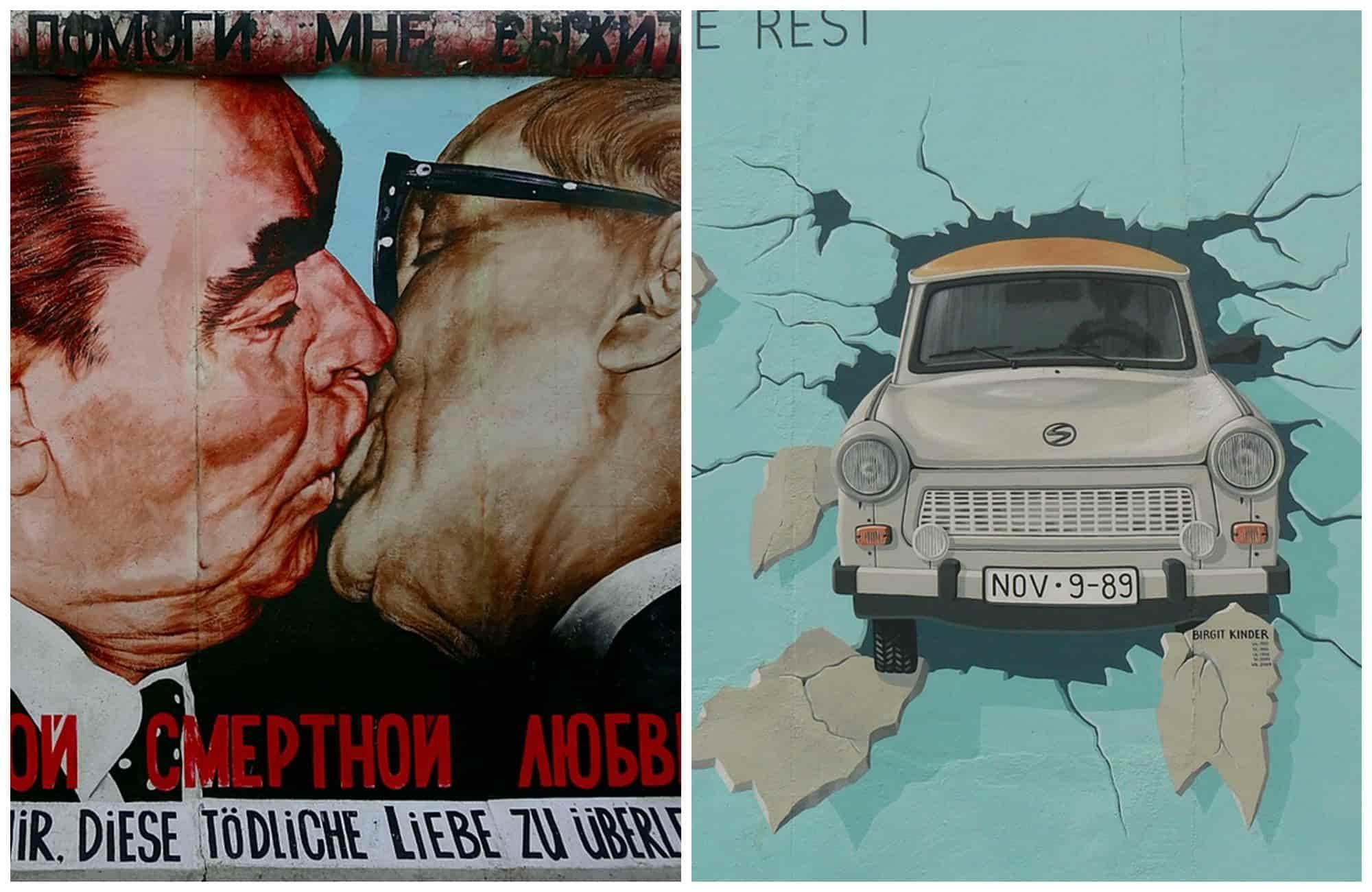 Voyage en Allemagne - Street art East Side Gallery - Amplitudes