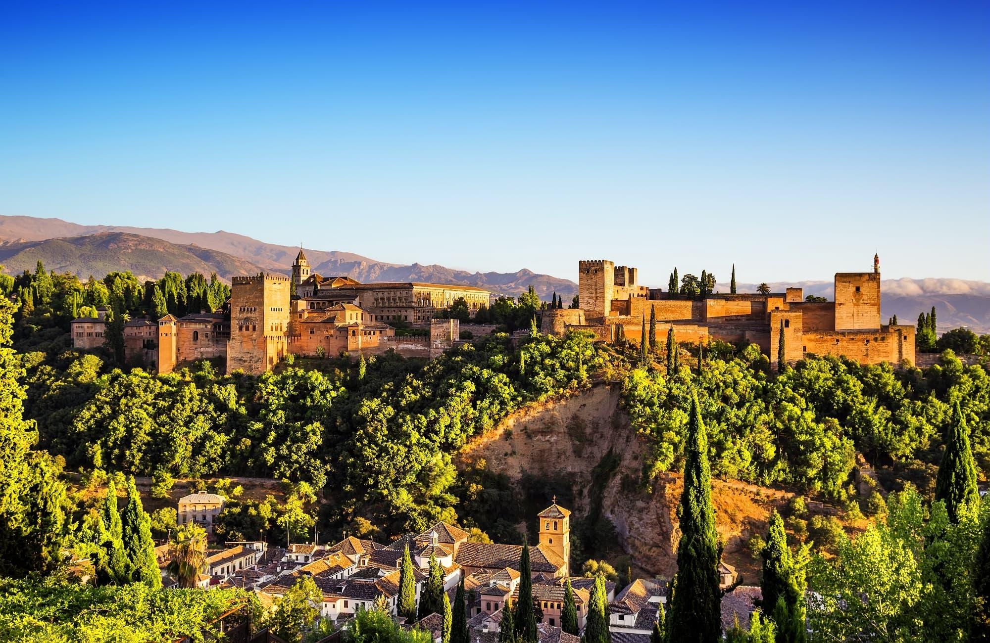 belle vue sur l'Alhambra