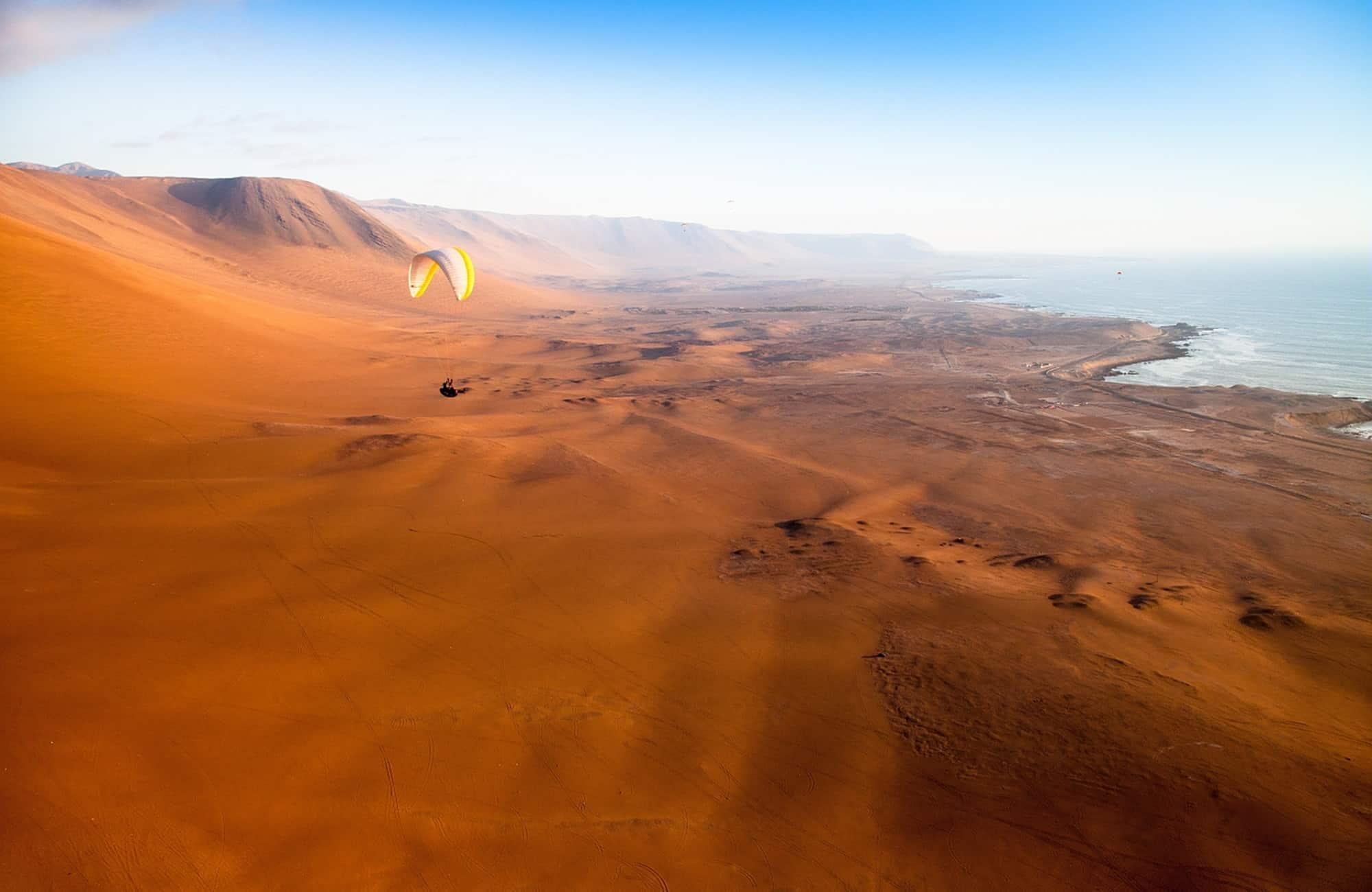 Voyage au Chili - Iquique - Amplitudes