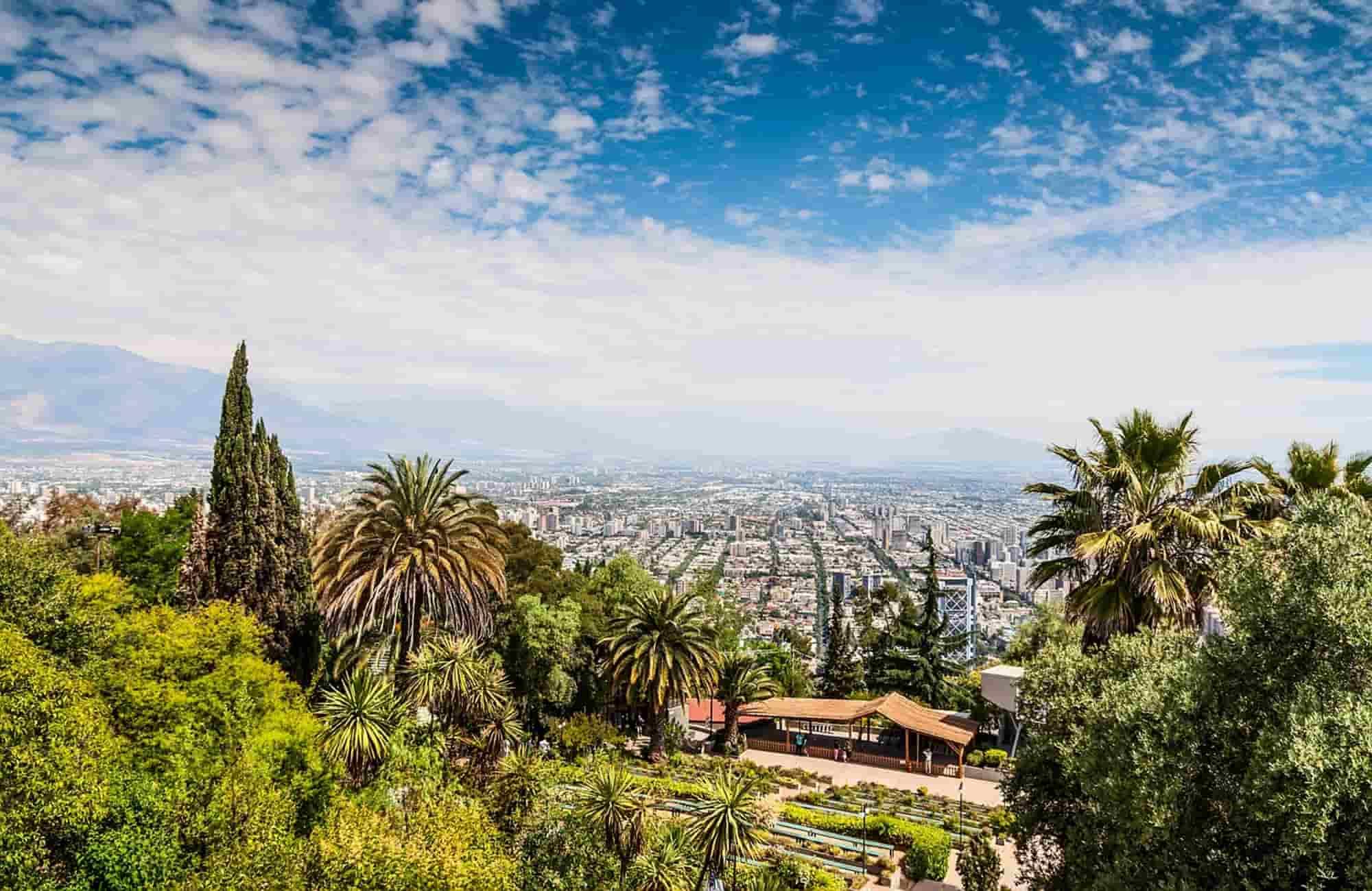 Voyage au Chili - Santiago - Amplitudes