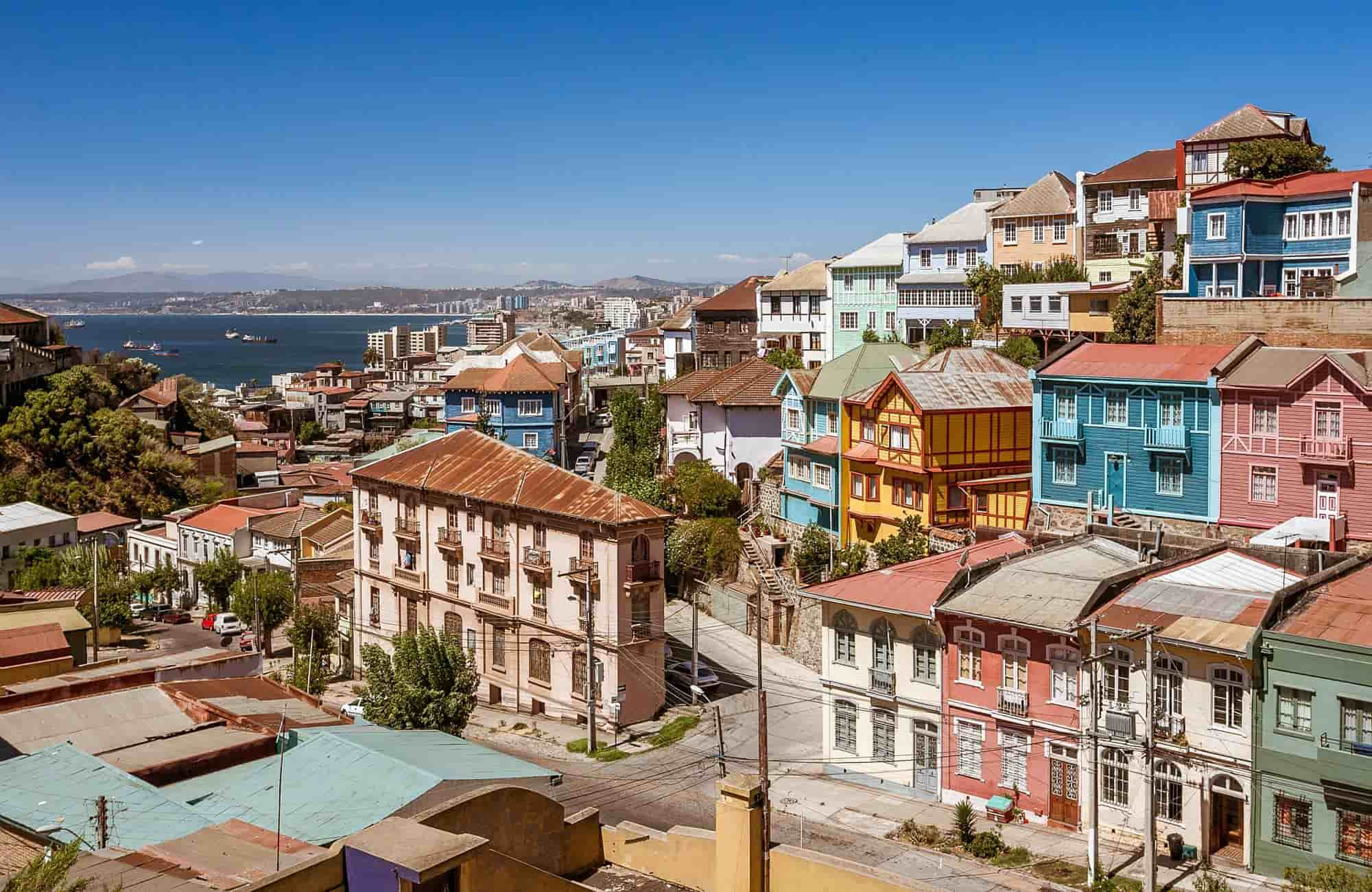 Voyage au Chili - Valparaiso - Amplitudes