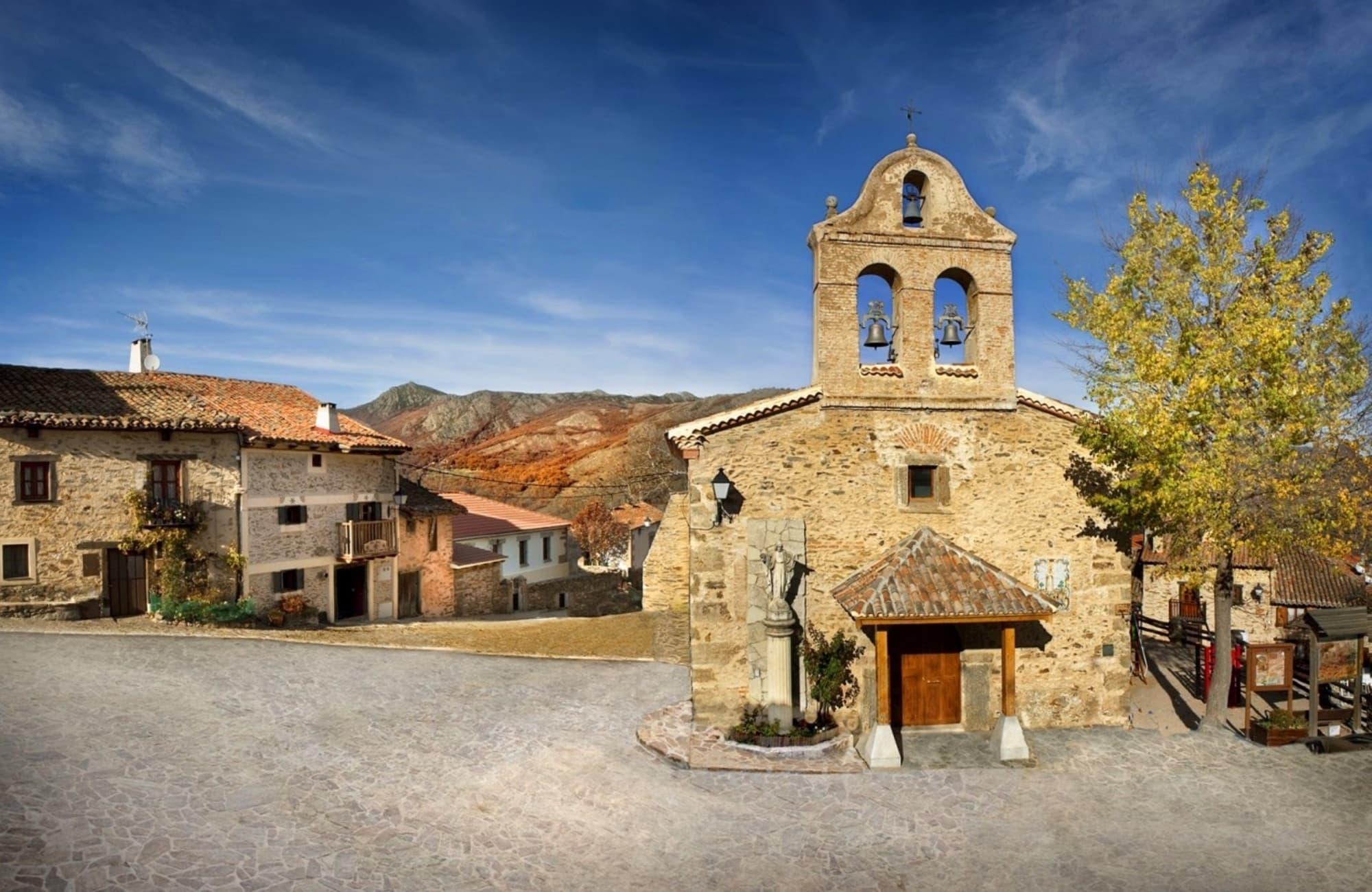 Village en pierre de la Hiruela