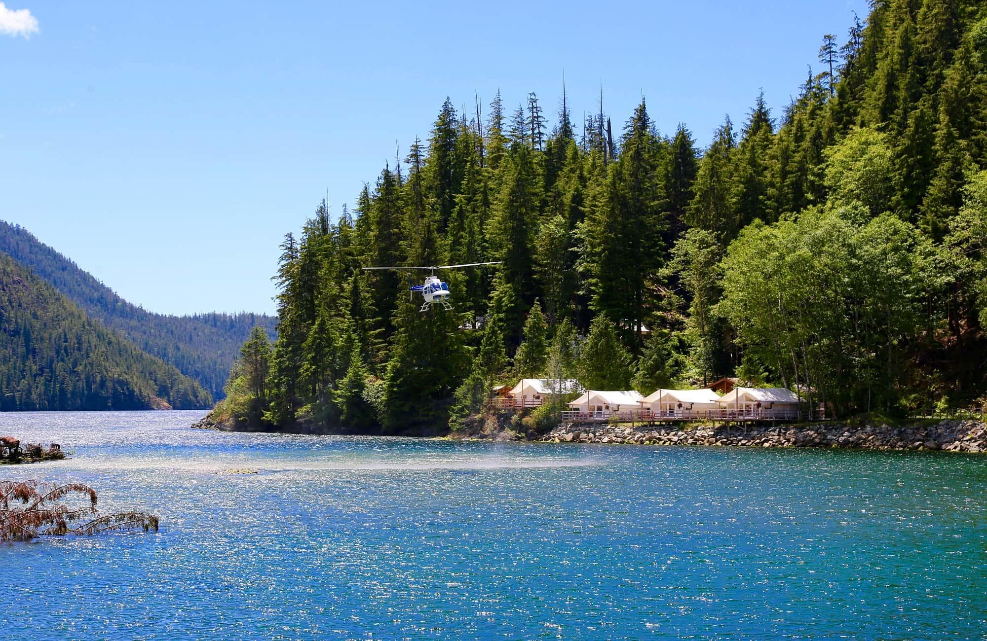 Atterrissage en douceur au Clayoquot Wilderness Resort