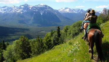 Une petite randonnée preès du lac Chilko au Canada
